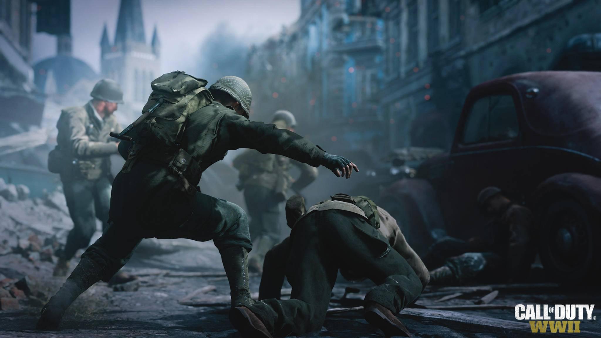 Keiner Dauersprint in Call of Duty: WWII Dadurch langsamere & taktischere