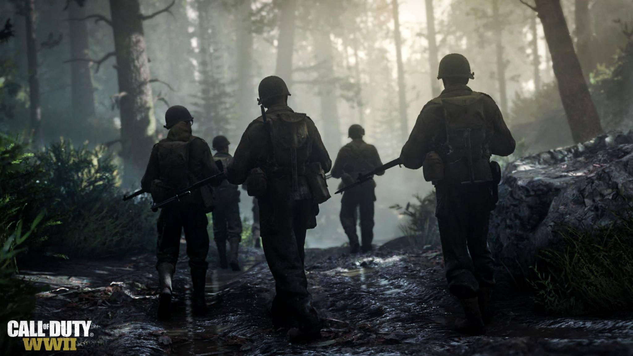 """Supersoldaten-Fähigkeiten werden wir in """"Call of Duty: WW2"""" vergeblich suchen."""