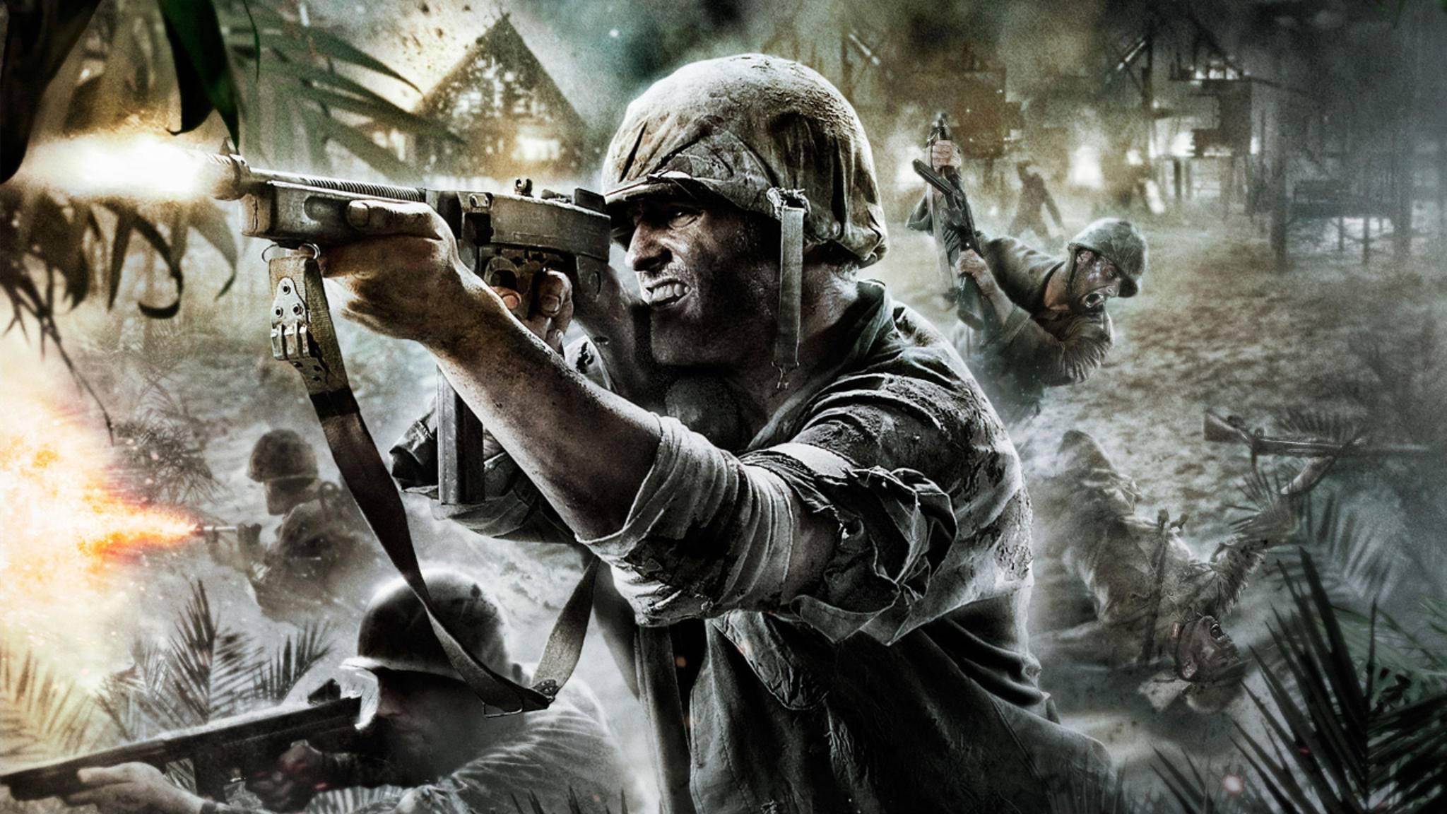 """Rückkehr zum Zweiten Weltkrieg: """"Call of Duty"""" wird einen Koop-Modus bieten."""