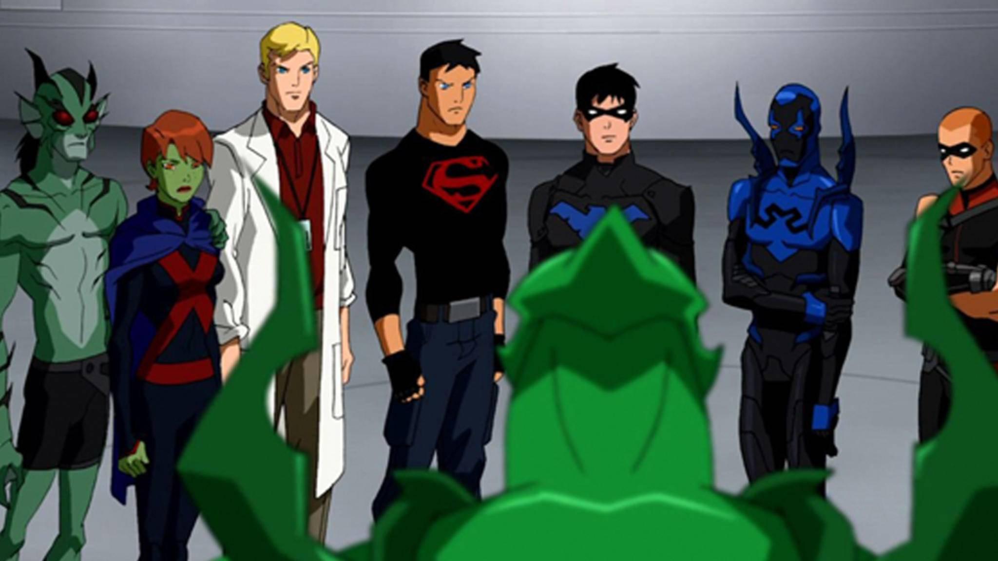 """""""Young Justice: Outsiders"""" soll eines der Zugpferde für das neue Portal von DC Comics werden."""