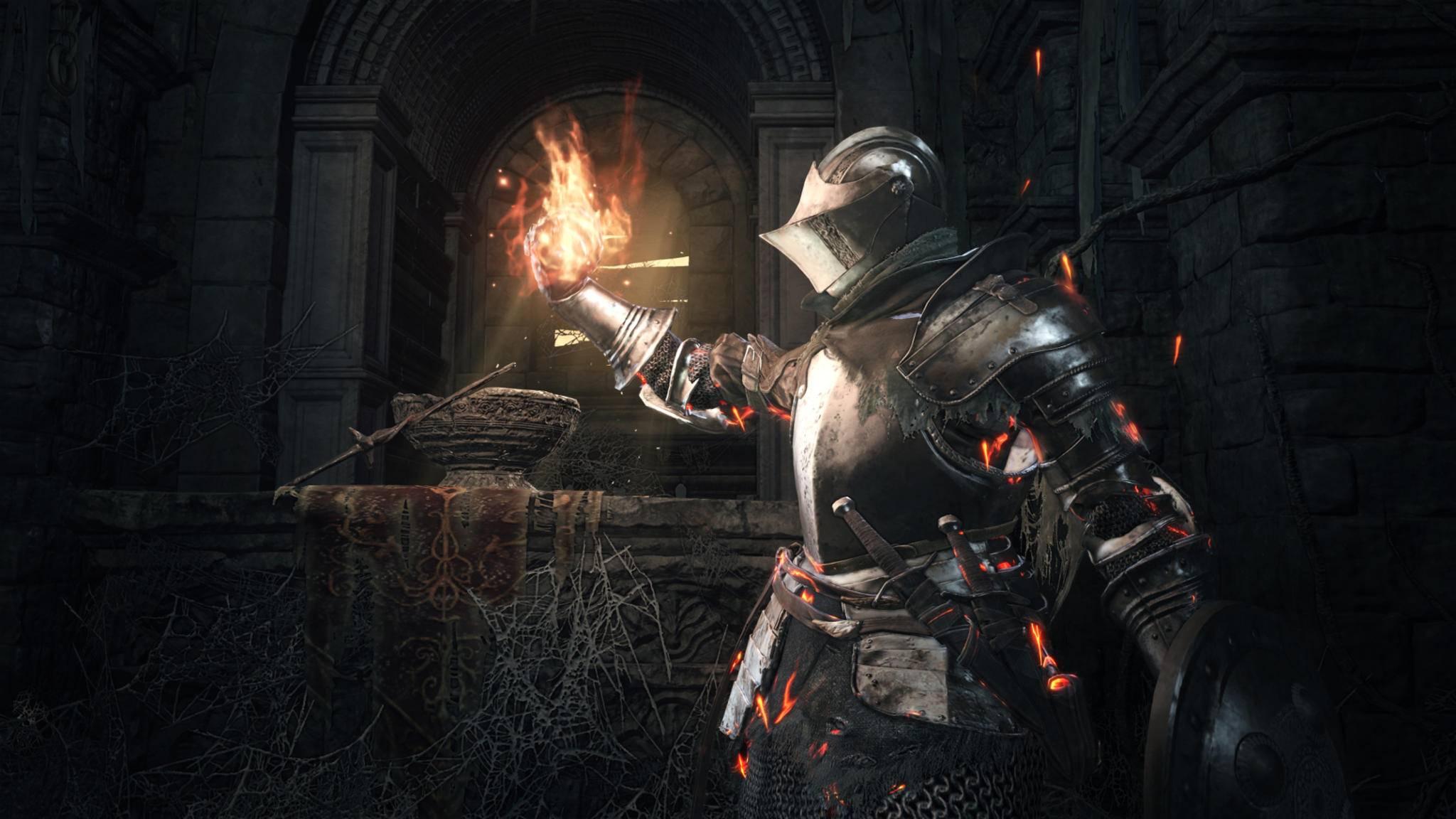 """Wie passen """"Dark Souls"""" und krachige Mech-Action zusammen? Gar nicht, aber man wird ja wohl träumen dürfen!"""