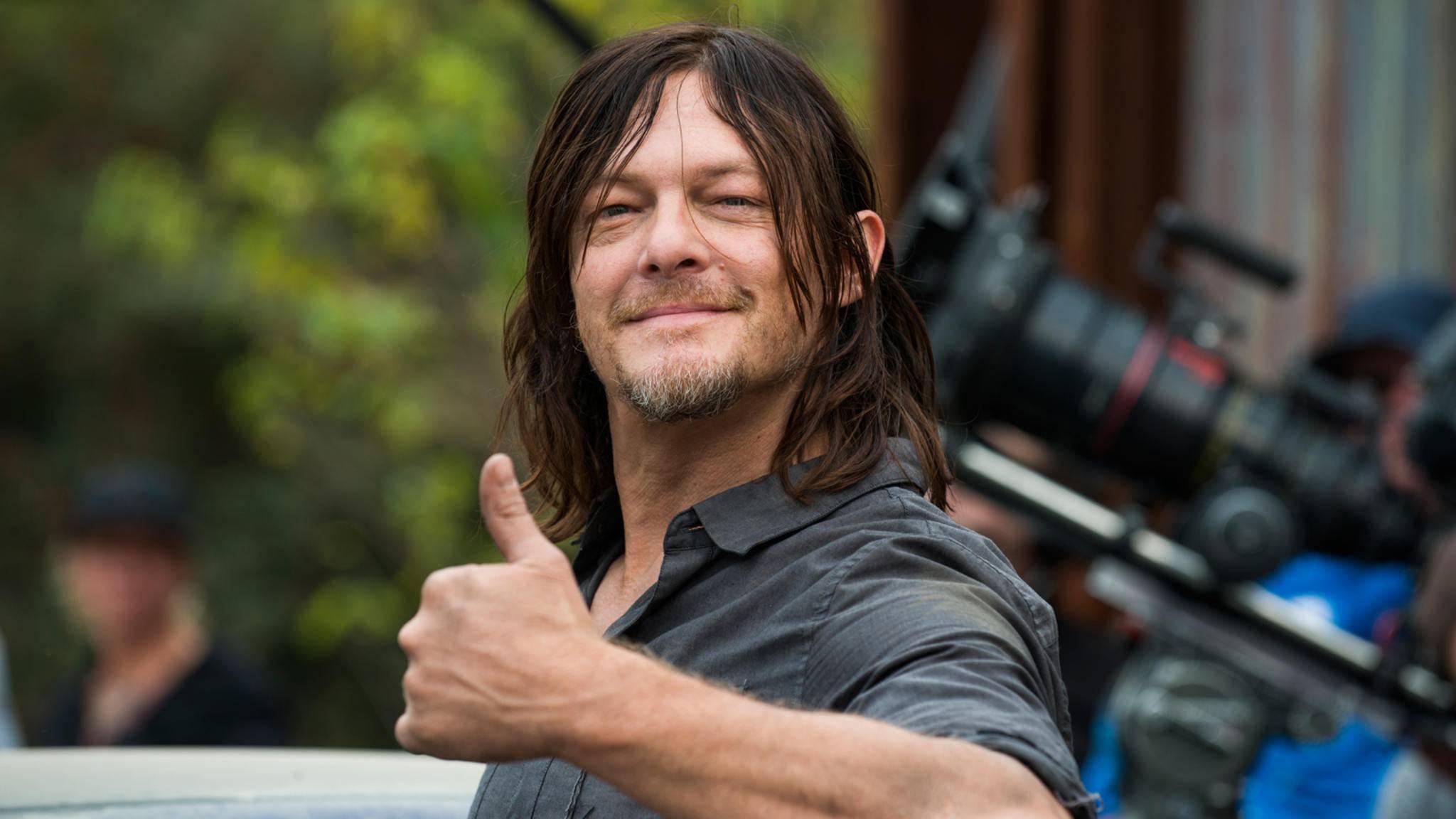 Daryl darf sich in Staffel 8 gleich über zwei neue Kollegen freuen.
