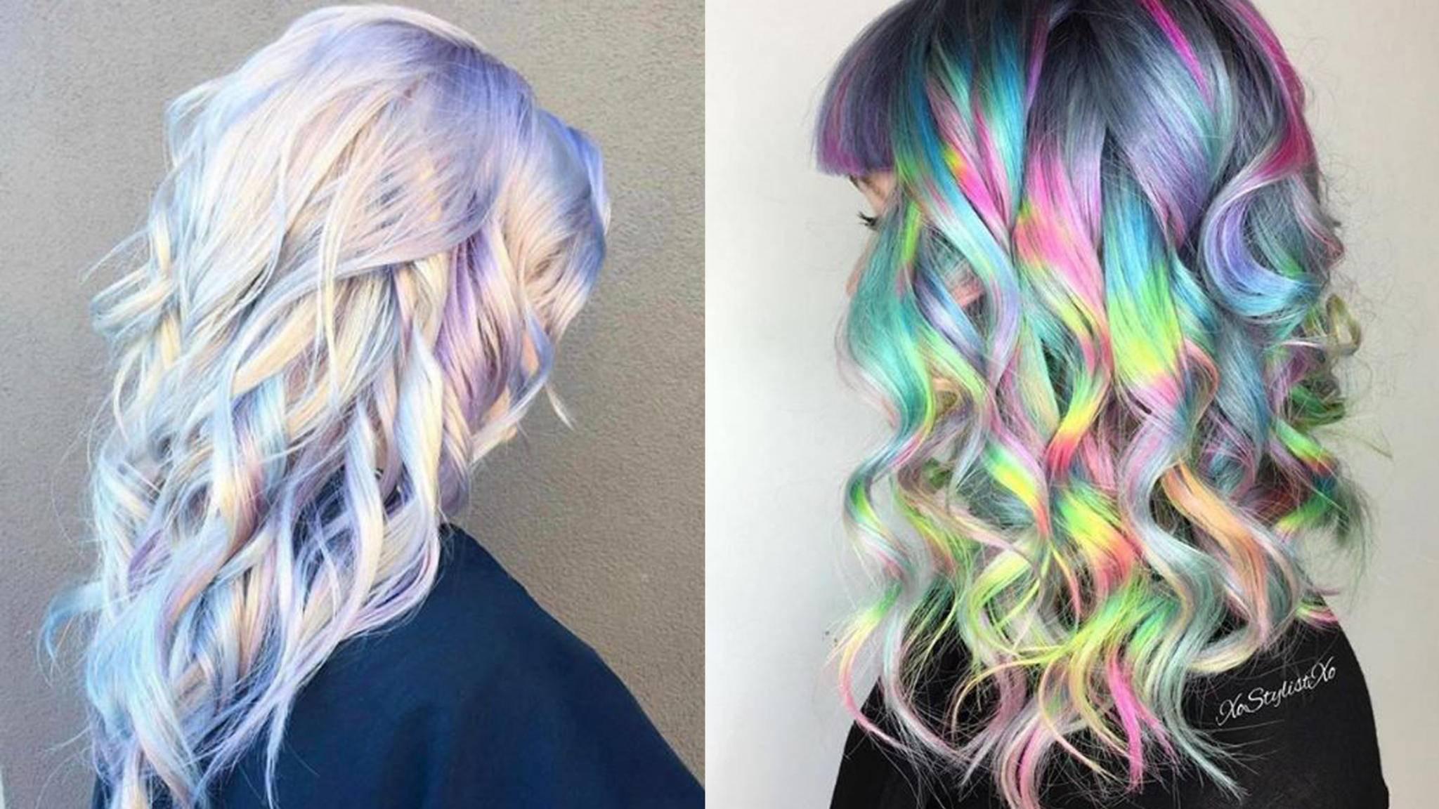 Ob zart oder kräftig eingefärbt – Einhorn-Haare sind definitiv ein echter Hingucker und möglicherweise der Frisuren-Trend 2017.