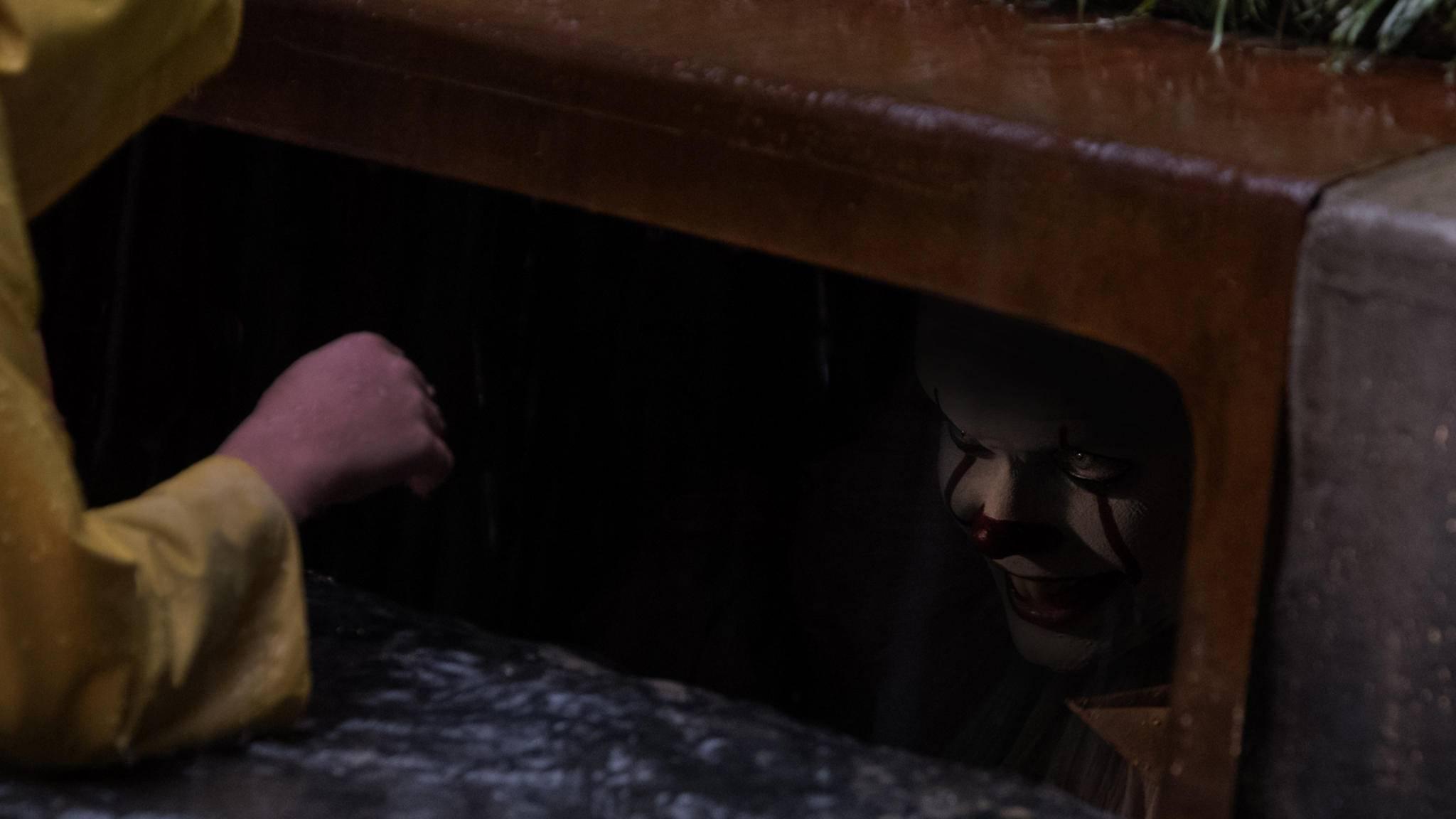 """Da hat Pennywise wohl zwei potenzielle neue Opfer für """"Es 2"""" gefunden ..."""