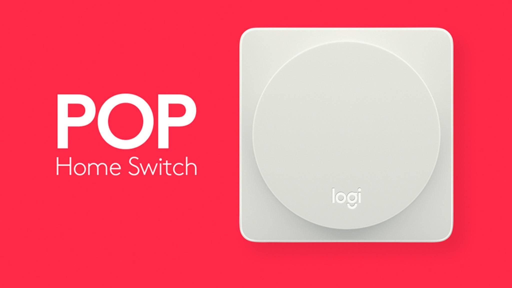 POP-Button: Auch das Apple HomeKit lässt sich nun per Klick steuern.