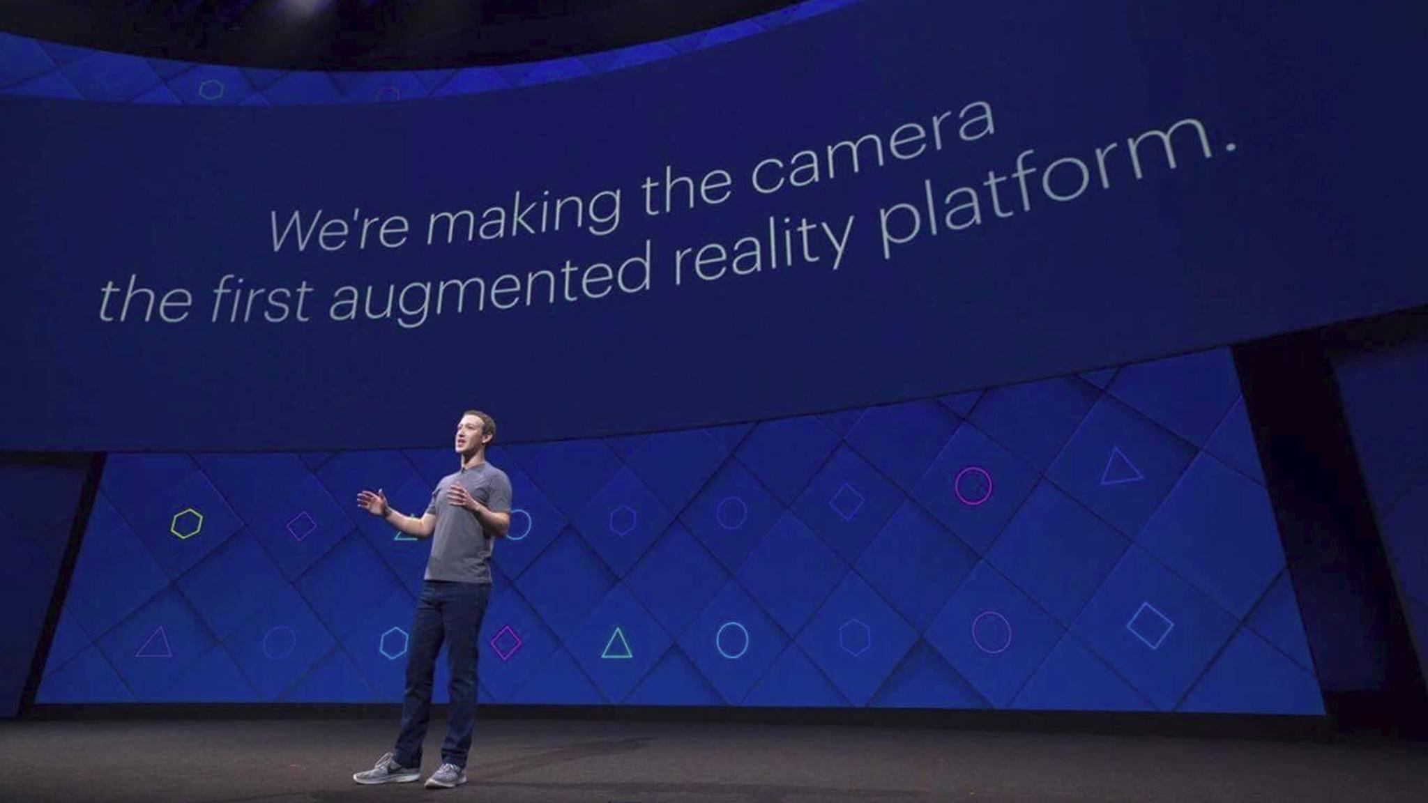 Auf der F8-Entwicklerkonferenz kündigte Mark Zuckerberg einige Neuheiten für Facebook und den Messenger an.