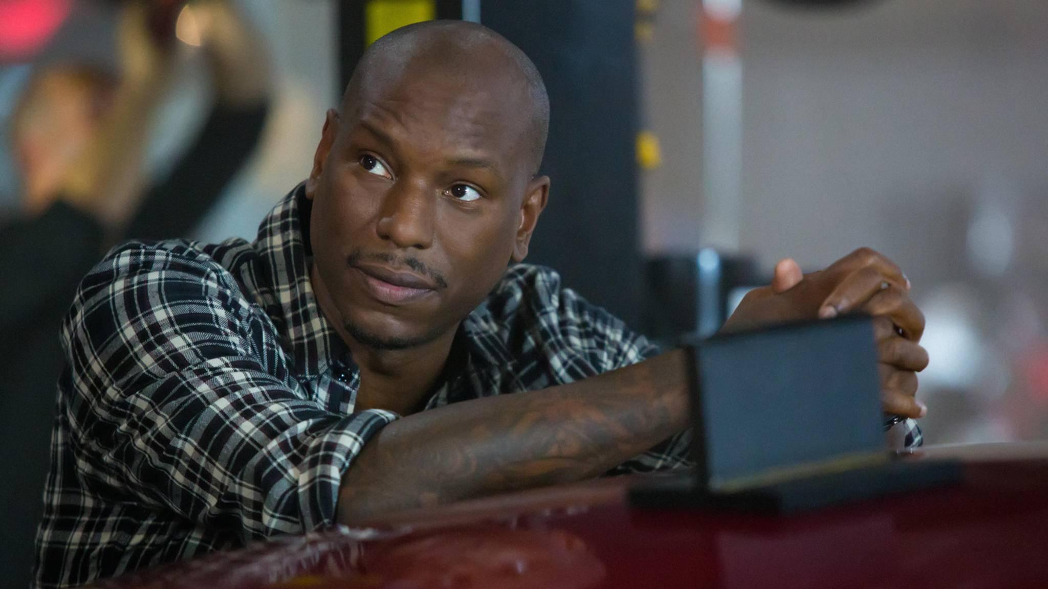 """Schon wieder attackiert Tyrese Gibson seinen """"Fast & Furious""""-Kollegen Dwayne Johnson."""