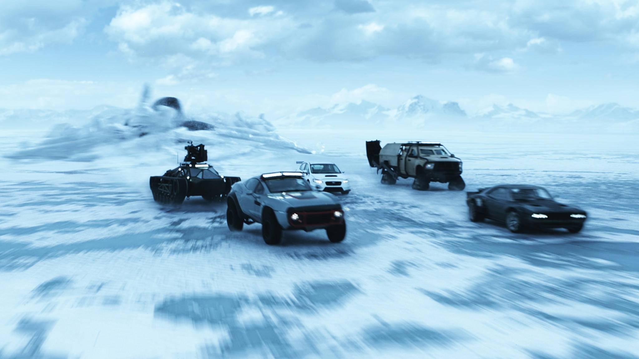 """Kein Ende in Sicht: """"Fast & Furious 8"""" rast auf die Top 10 der erfolgreichsten Filme aller Zeiten zu."""