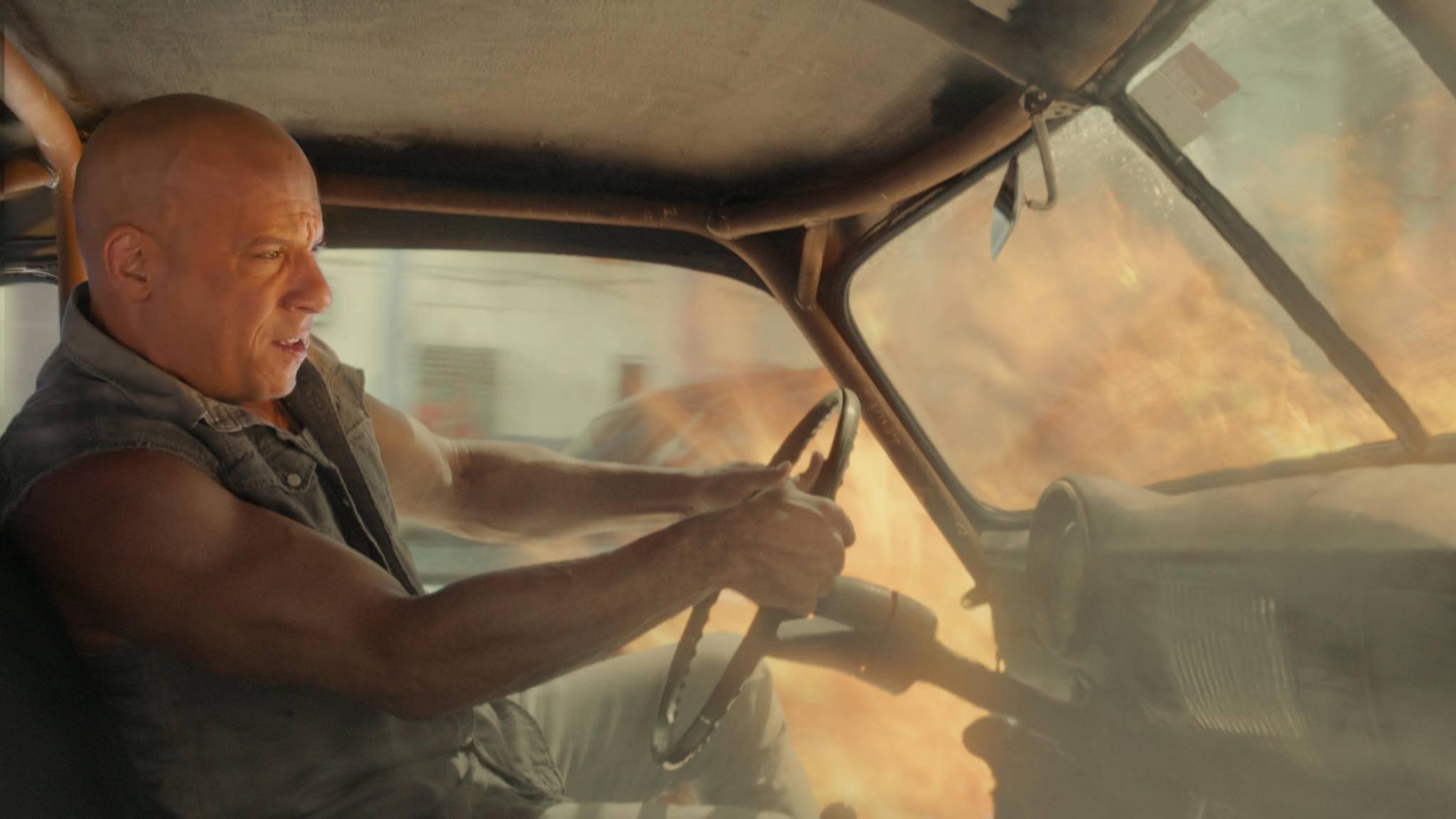 """Auch mit Teil 8 der """"Fast & Furious""""-Reihe ist Vin Diesel auf der richtigen Spur."""