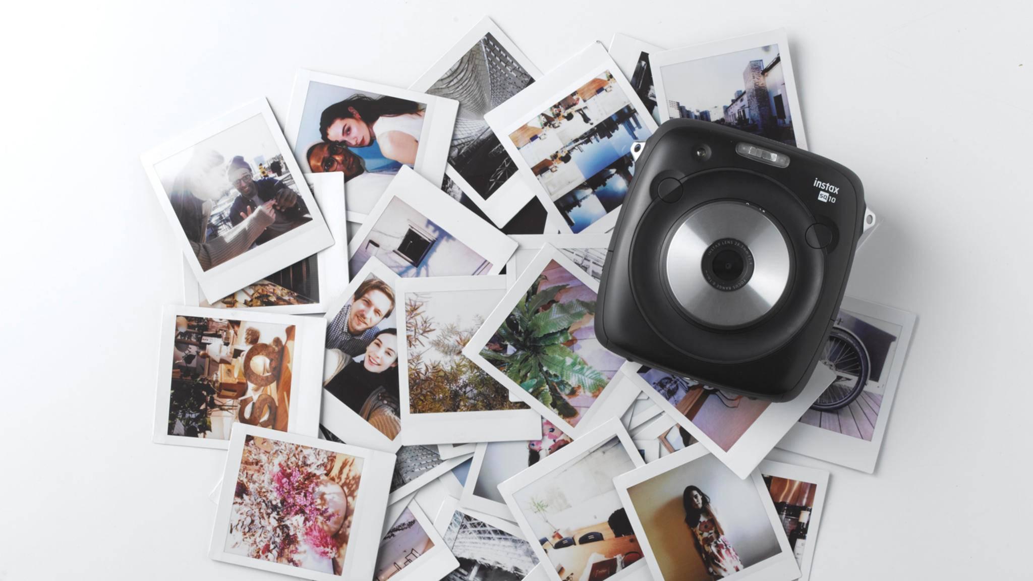 Die neue Fujifilm Instax Square SQ10 soll für perfekte Sofortbildaufnahmen sorgen.