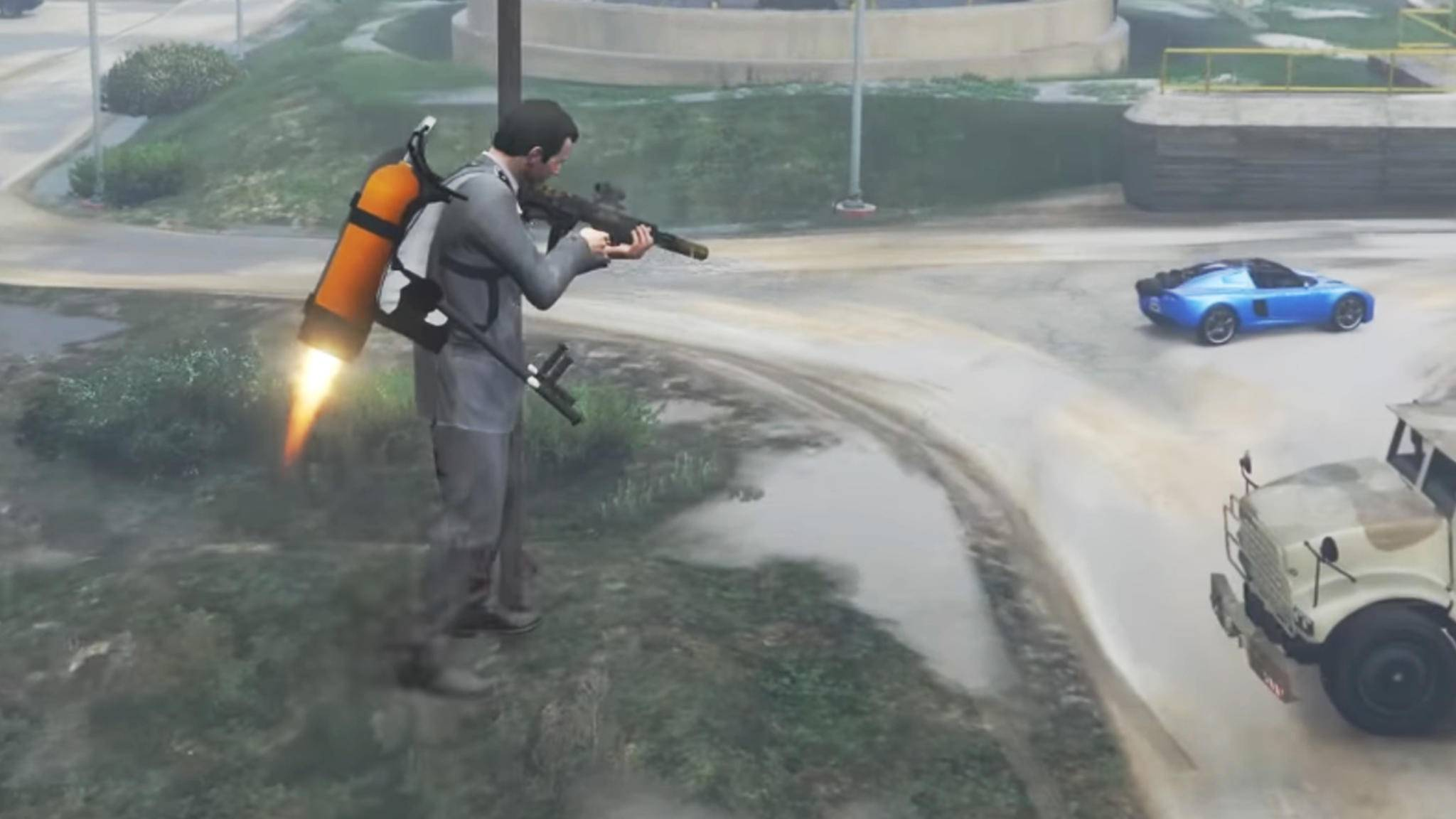 """""""GTA 5"""": Gibt es tatsächlich keinen Jetpack im Spiel?"""