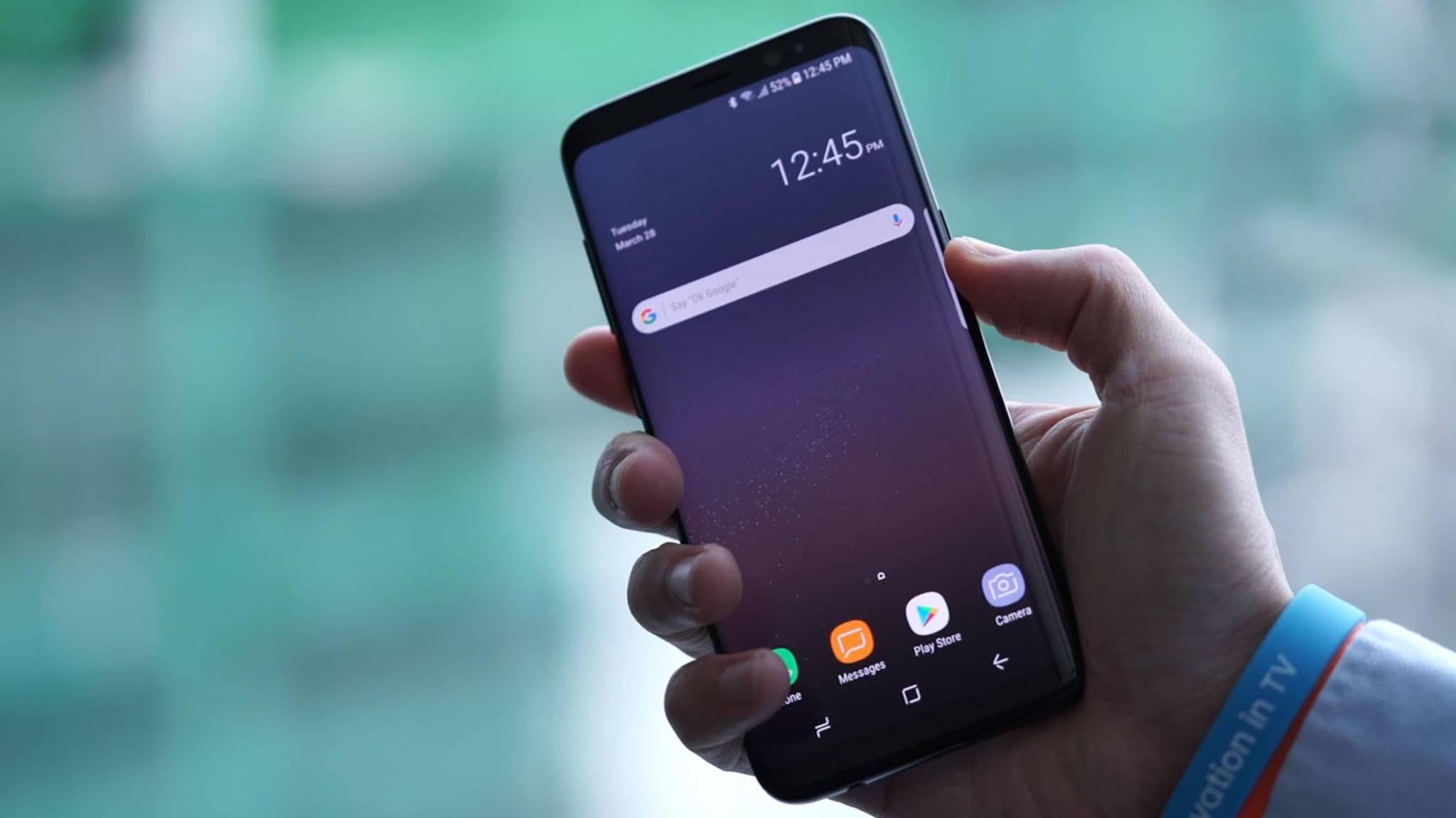 Könnte schon bald ein Update auf Android 7.1 erhalten: das Samsung Galaxy S8.
