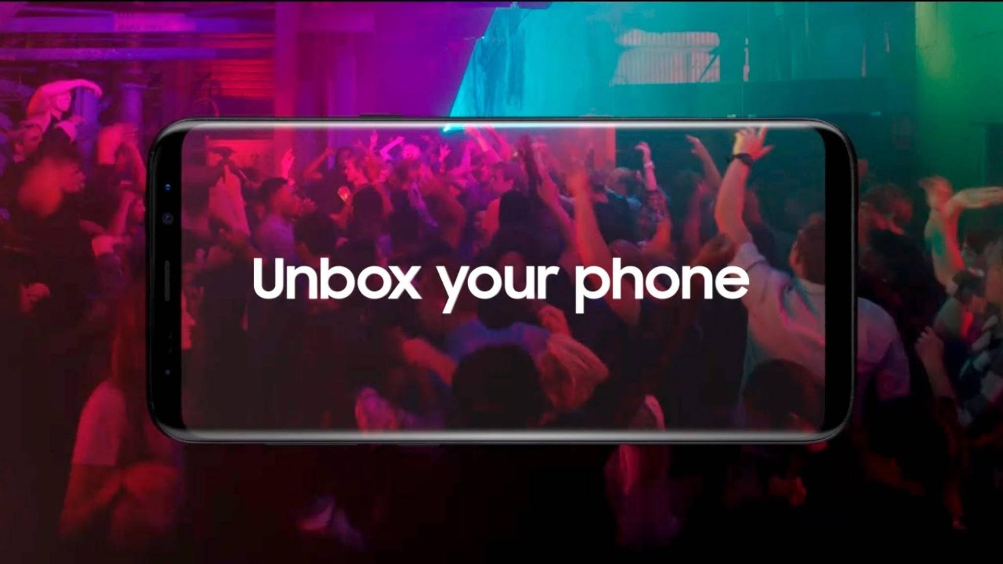 Das Galaxy S9 dürfte auch auf einen randlosen Screen setzen.