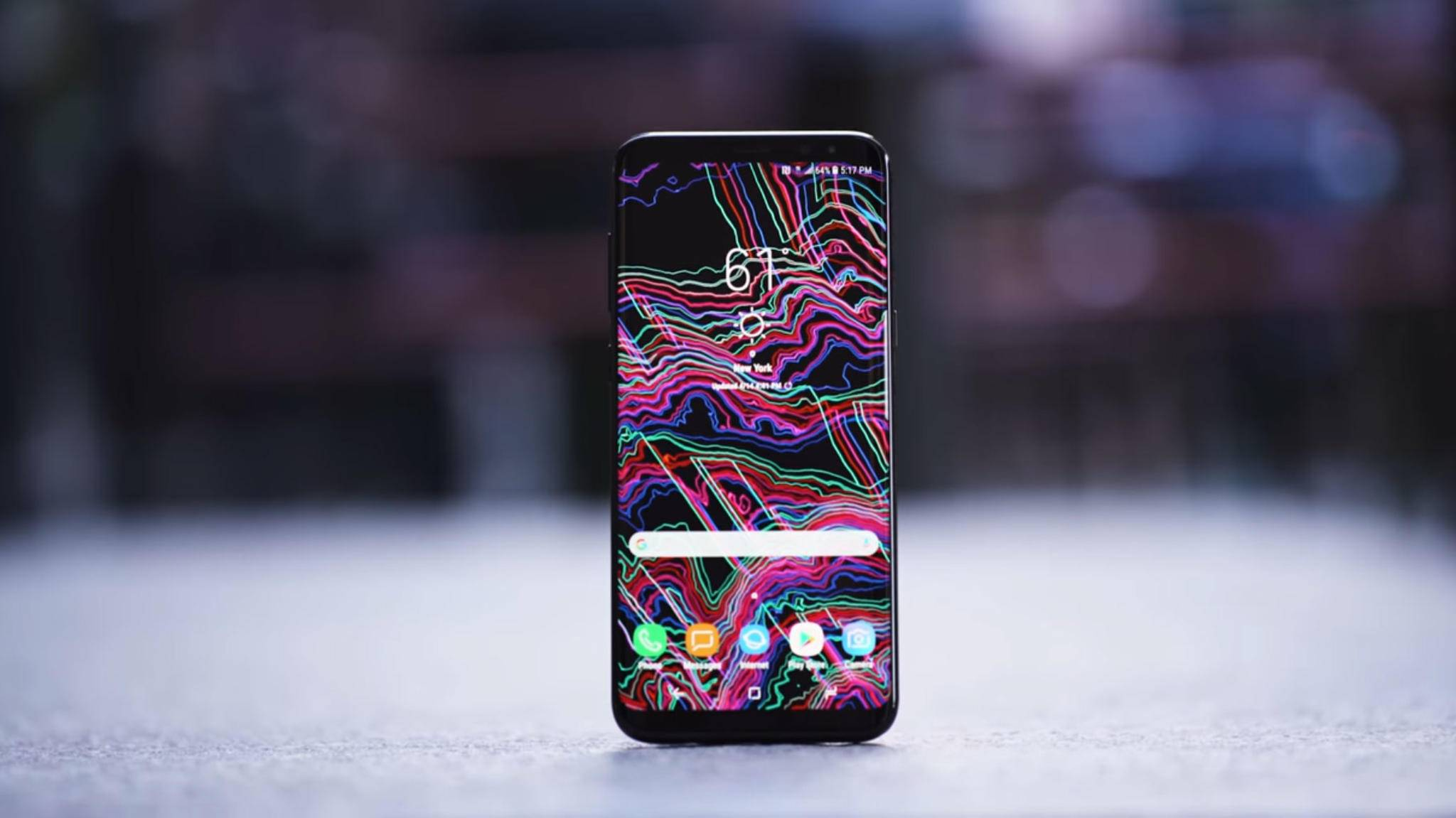 Bug oder Einstellungsfrage? Zu Beginn beschwerten sich einige Galaxy-S8-Käufer über ein rotstichiges Display.