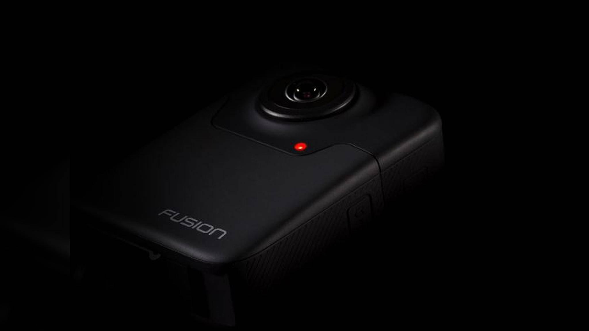 Mit der 360-Grad-Kamera GoPro Fusion lassen sich 5K-Videos aufnehmen.