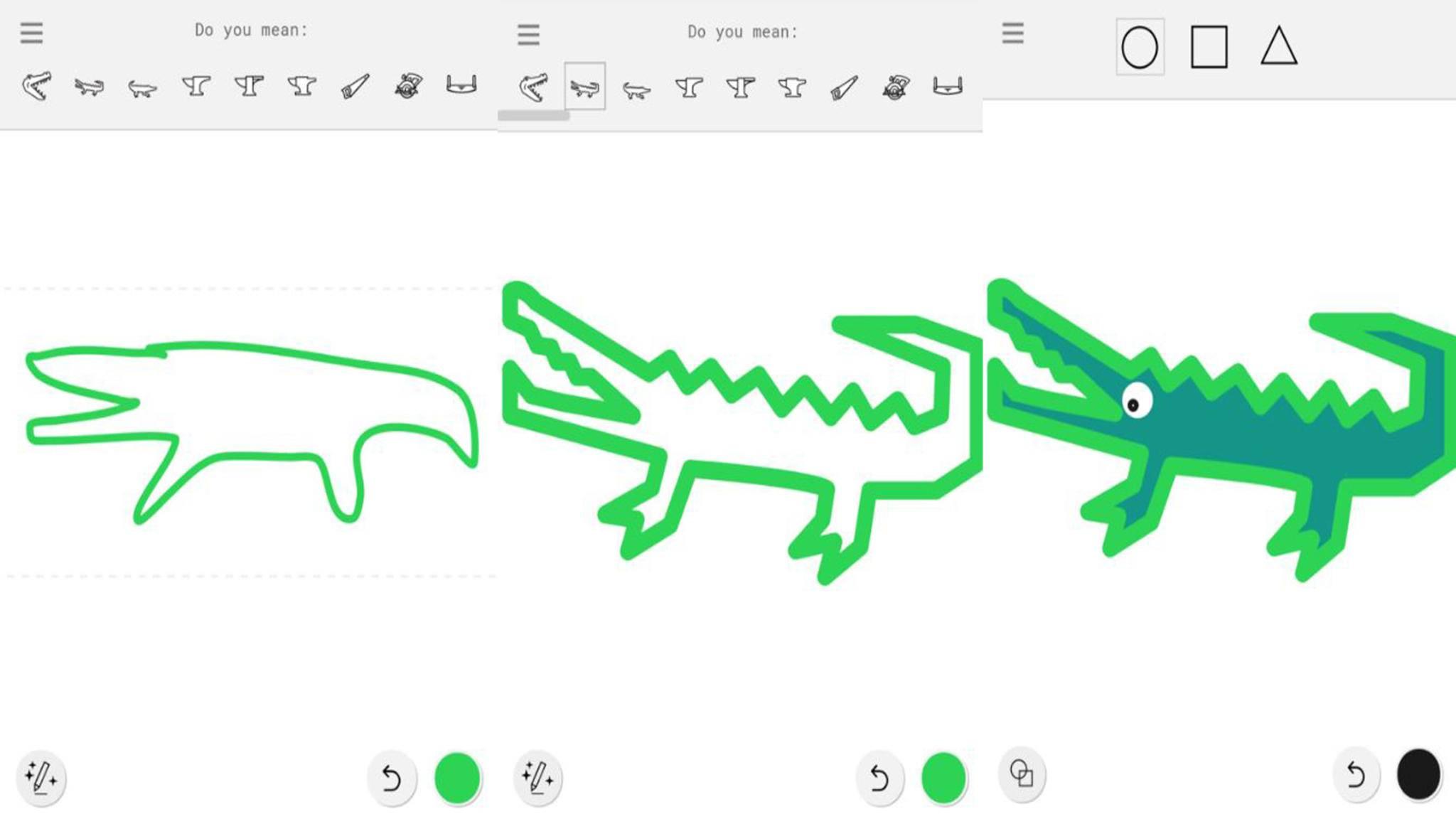 Dank Google AutoDraw wird jedes Gekritzel zur professionellen Zeichnung.