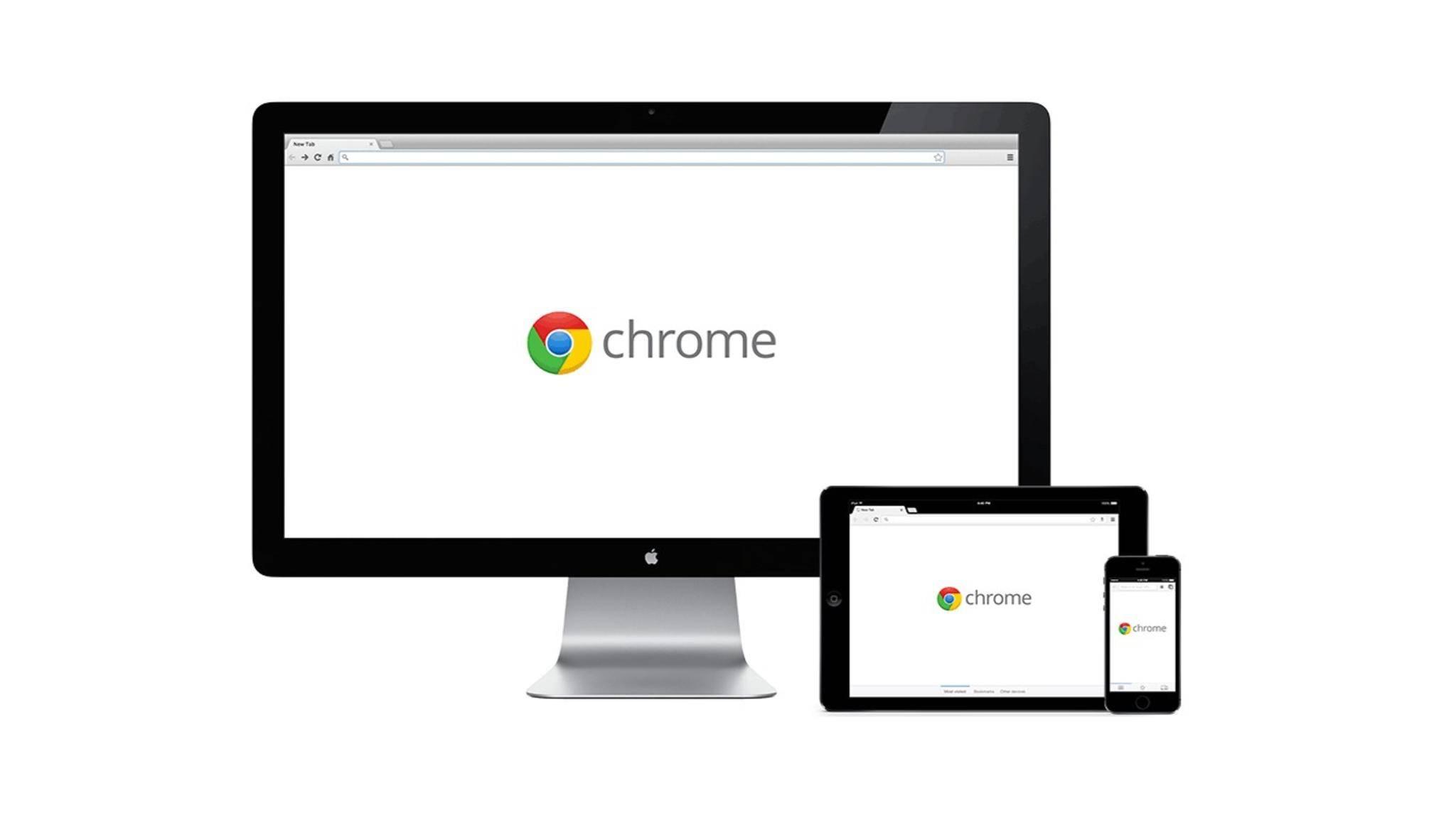 Browser wie Google Chrome gibt es für verschiedene Geräte.