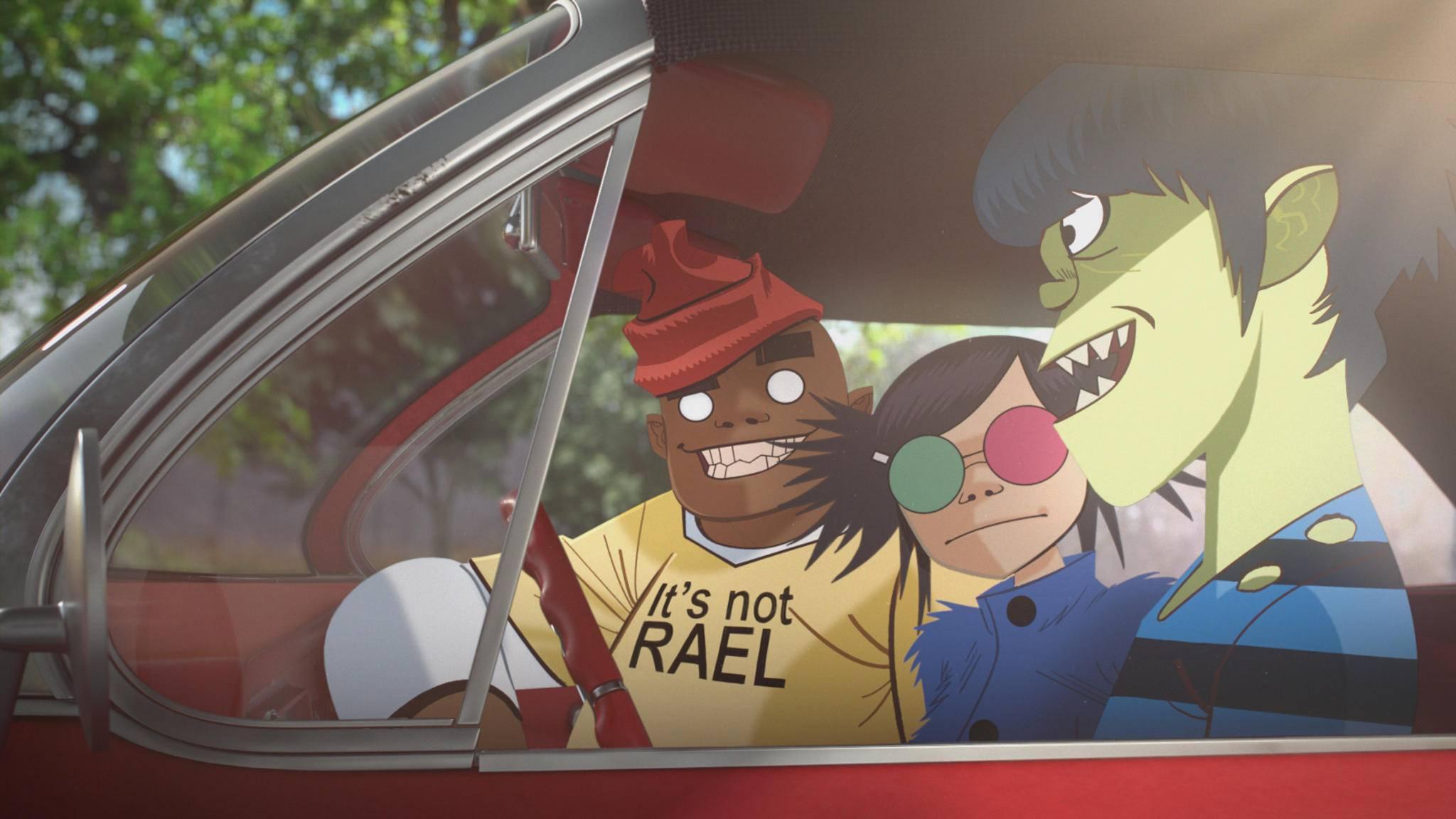 In Musikvideos kann man die animierten Mitglieder der Gorillaz schon länger in Aktion sehen. Bald läuft das schräge Quartett mit seiner eigenen Serie im TV.