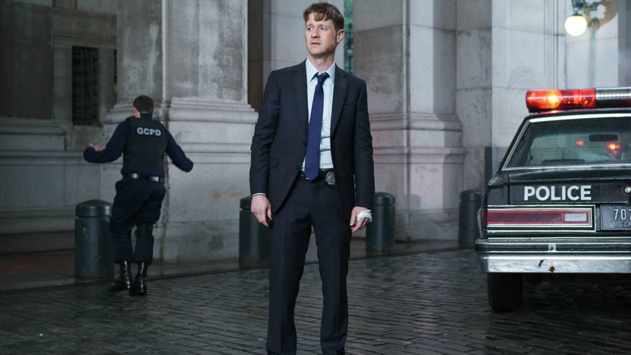 Polizeicaptain Jim Gordon (Ben McKenzie) muss sich bald eine neue Wirkungsstätte suchen.