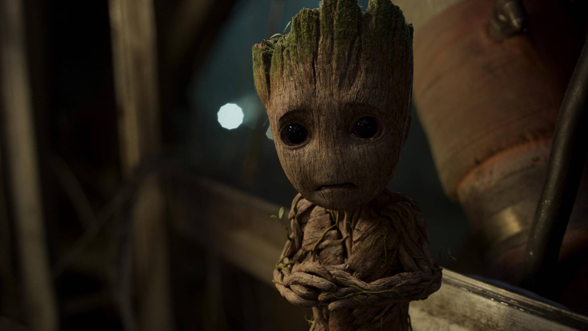 """Nicht so ängstlich, Groot! Die Post-Credit-Scenes aus """"Guardians of the Galaxy 2"""" sollen sehr lustig sein."""