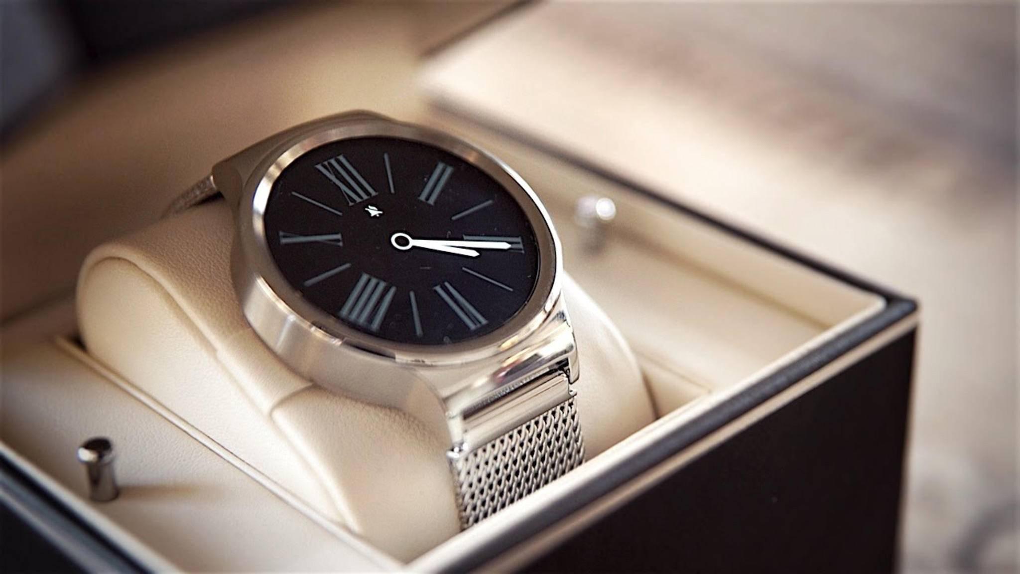 Die Huawei Watch soll bald das Update auf Android Wear 2.0 erhalten.