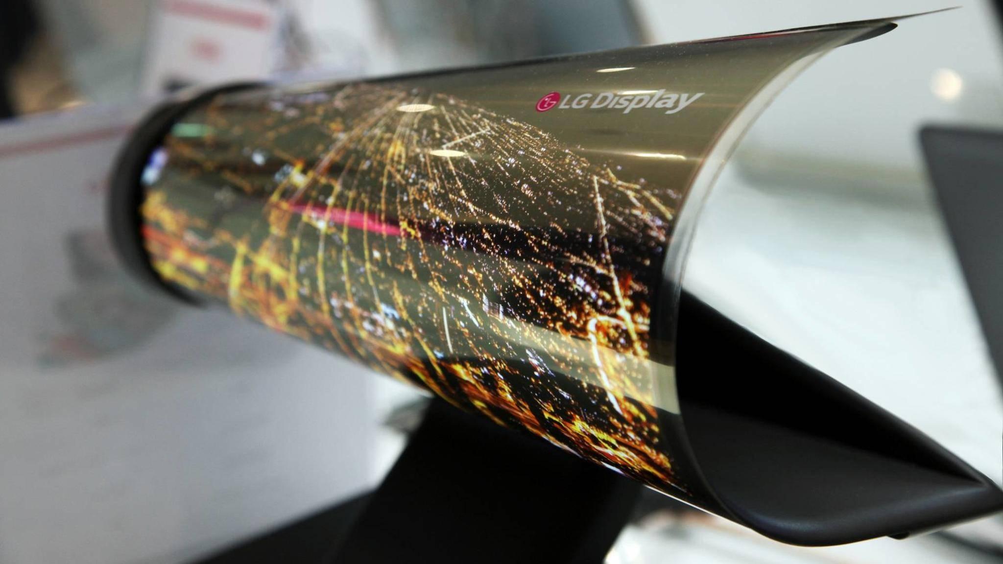 Das LG V30 soll ein Curved-OLED-Display erhalten.