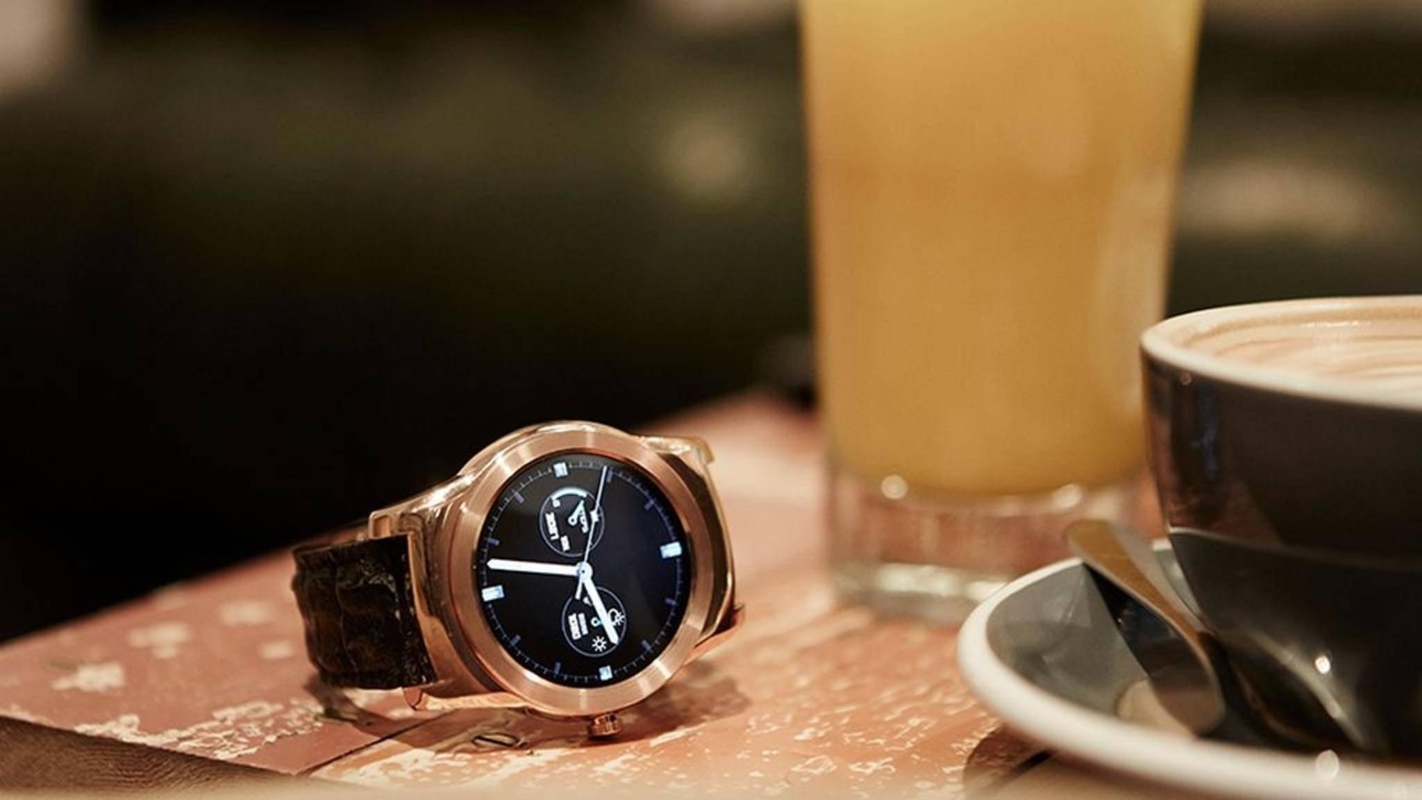 Der der LG Watch Urbane (im Bild) kommt wohl die LG Watch W7.