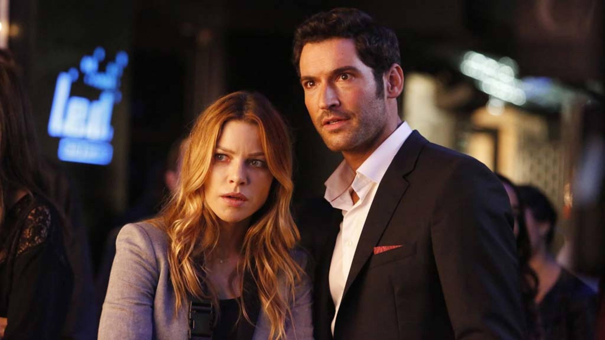 Chloe und Lucifer bekommen erst einmal nur 10 neue Folgen, um den Cliffhanger aus Staffel 3 aufzulösen.