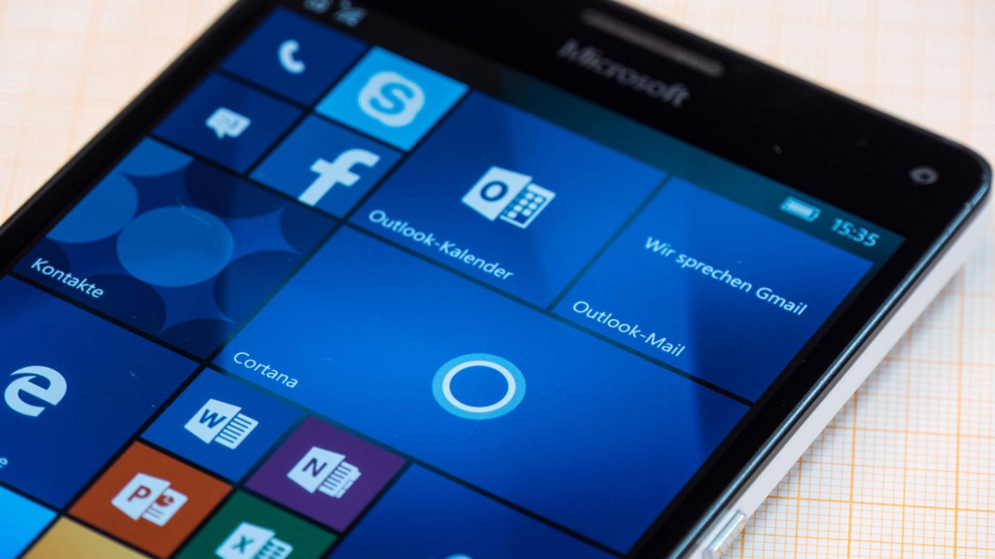 Das Lumia 950 XL kommt noch in den Genuss des Creators Update.