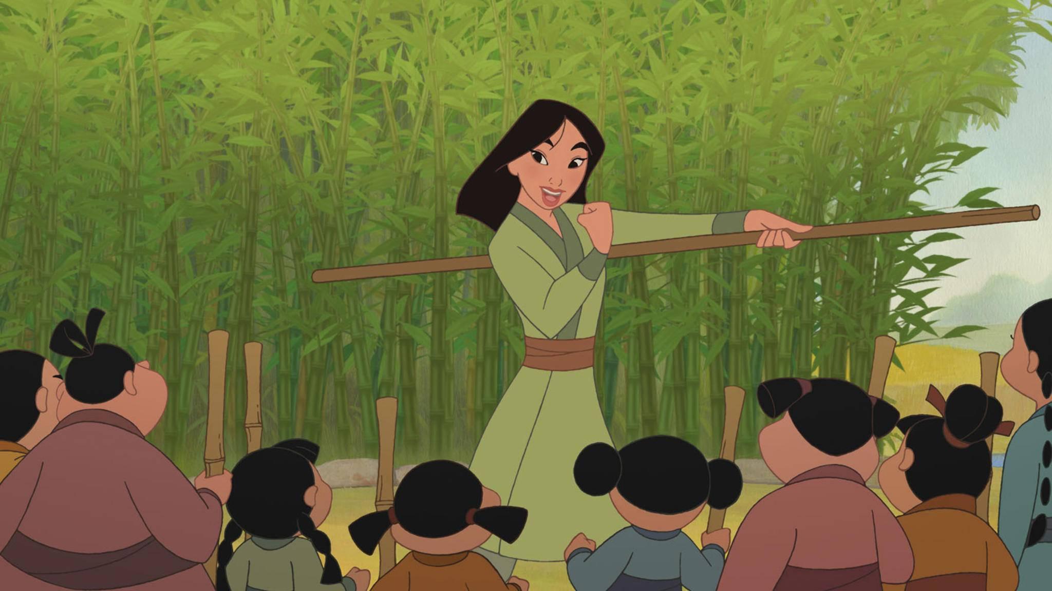 Ob Mulan in der Realverfilmung singend in den Krieg zieht, ist noch ungewiss.