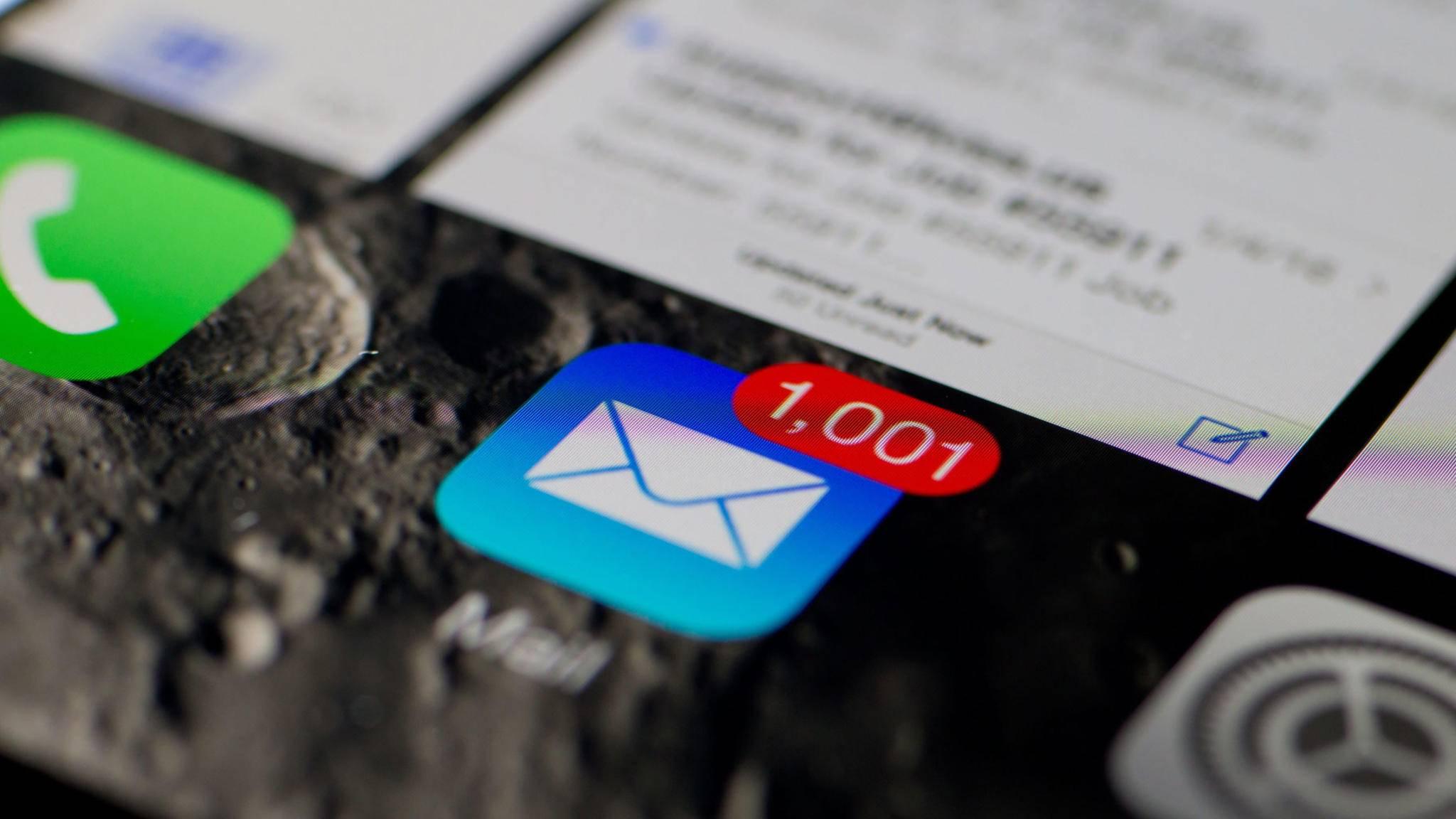 Das kannst Du tun, wenn Du auf dem iPhone keine Mails empfangen oder senden kannst.