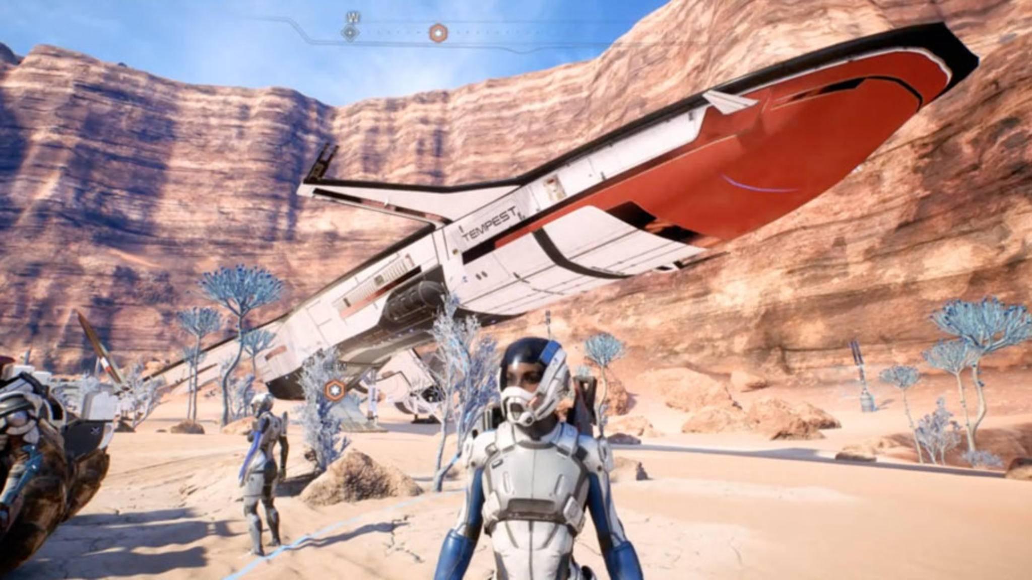 """""""Mass Effect: Andromeda"""": Das Profile-System kurz erklärt."""