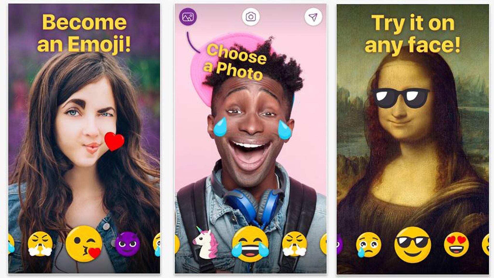 Memoji macht aus allen Gesichtern echte Emojis.