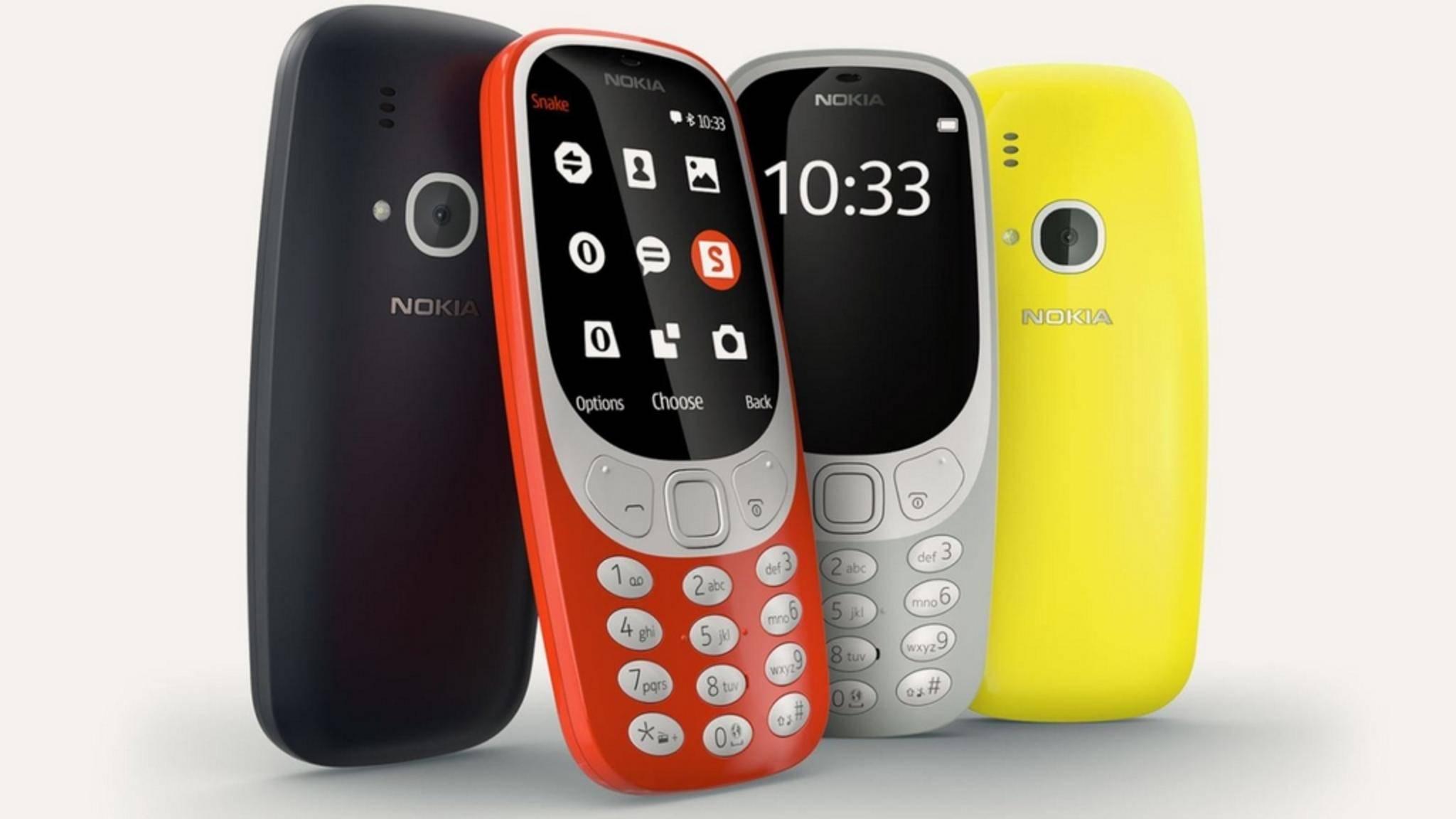 Mit dem Nokia 3310 kommt bald ein Handy-Klassiker zurück.