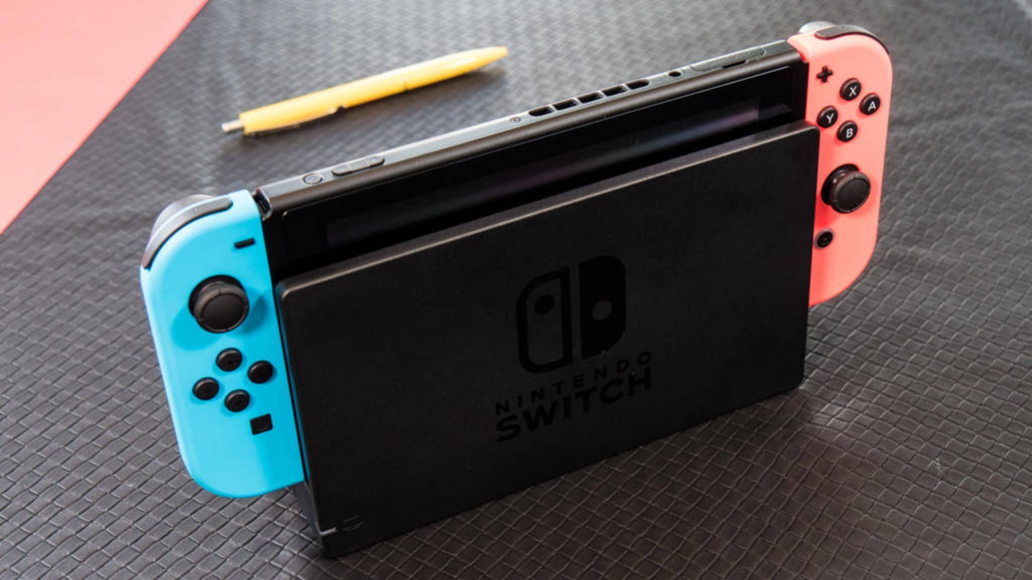 Wird die Nintendo Switch im Dock zu heiß?