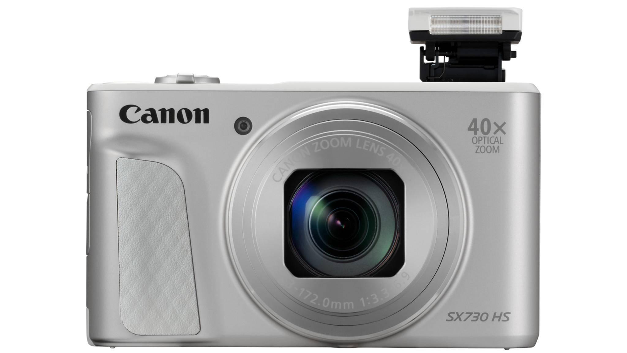 Mit der PowerShot SX730 HS bringt Canon eine Kompaktkamera mit 40-fach optischem Zoom auf den Markt.