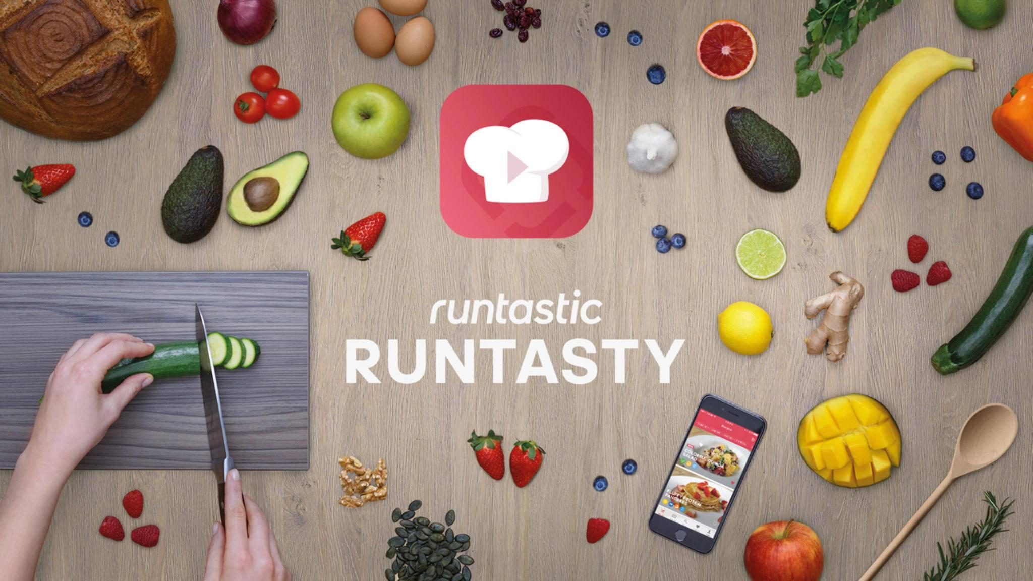 Runtastic bringt nicht nur Bewegung in Dein Leben, sondern liefert mit Runtasty auch die passenden Fitness-Rezepte.