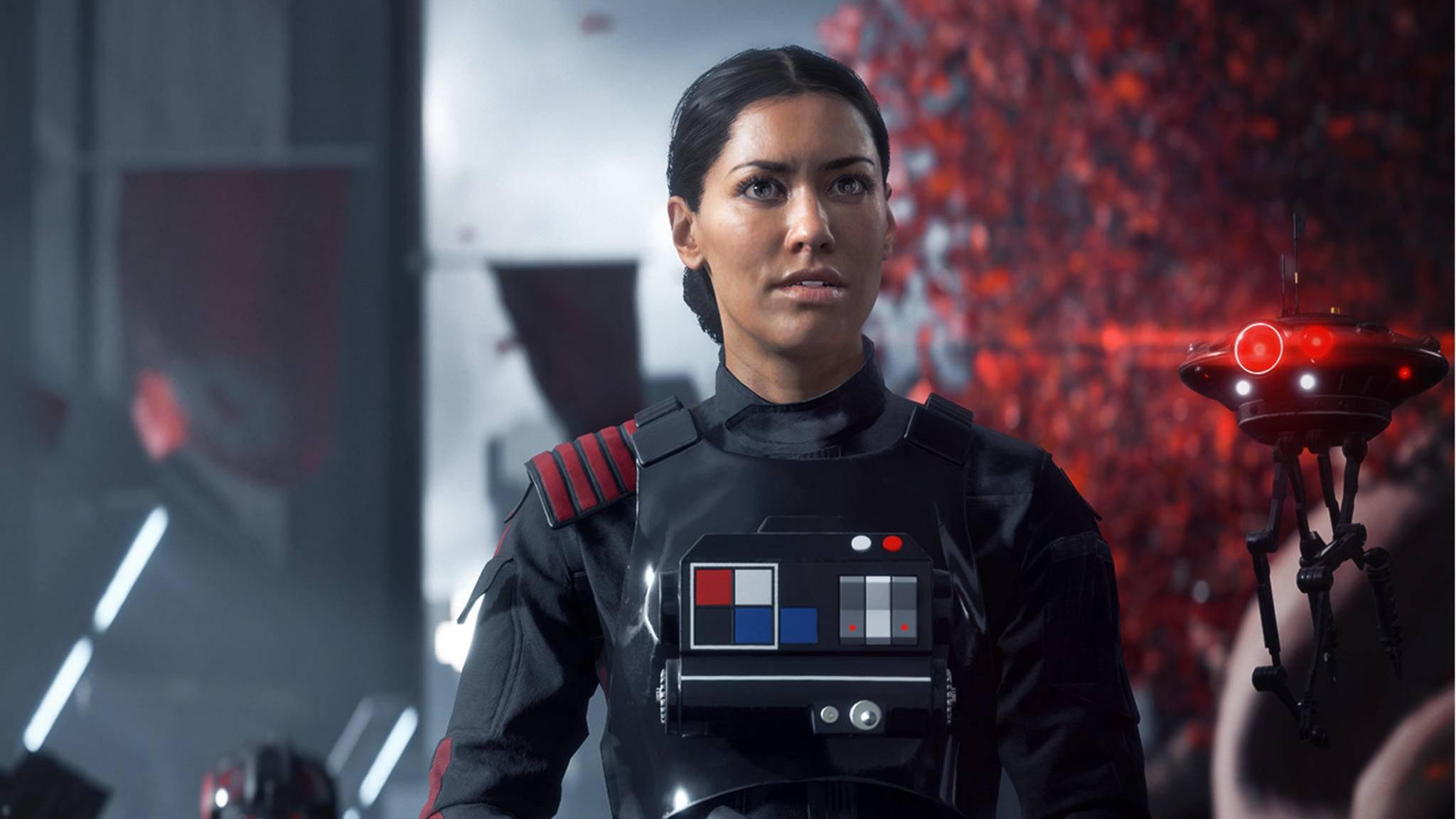 """In der Singleplayer-Kampagne von """"Star Wars: Battlefront 2"""" spielst Du die Soldatin Iden Version – und kannst mit ihr spezielle Sammelobjekte einheimsen."""
