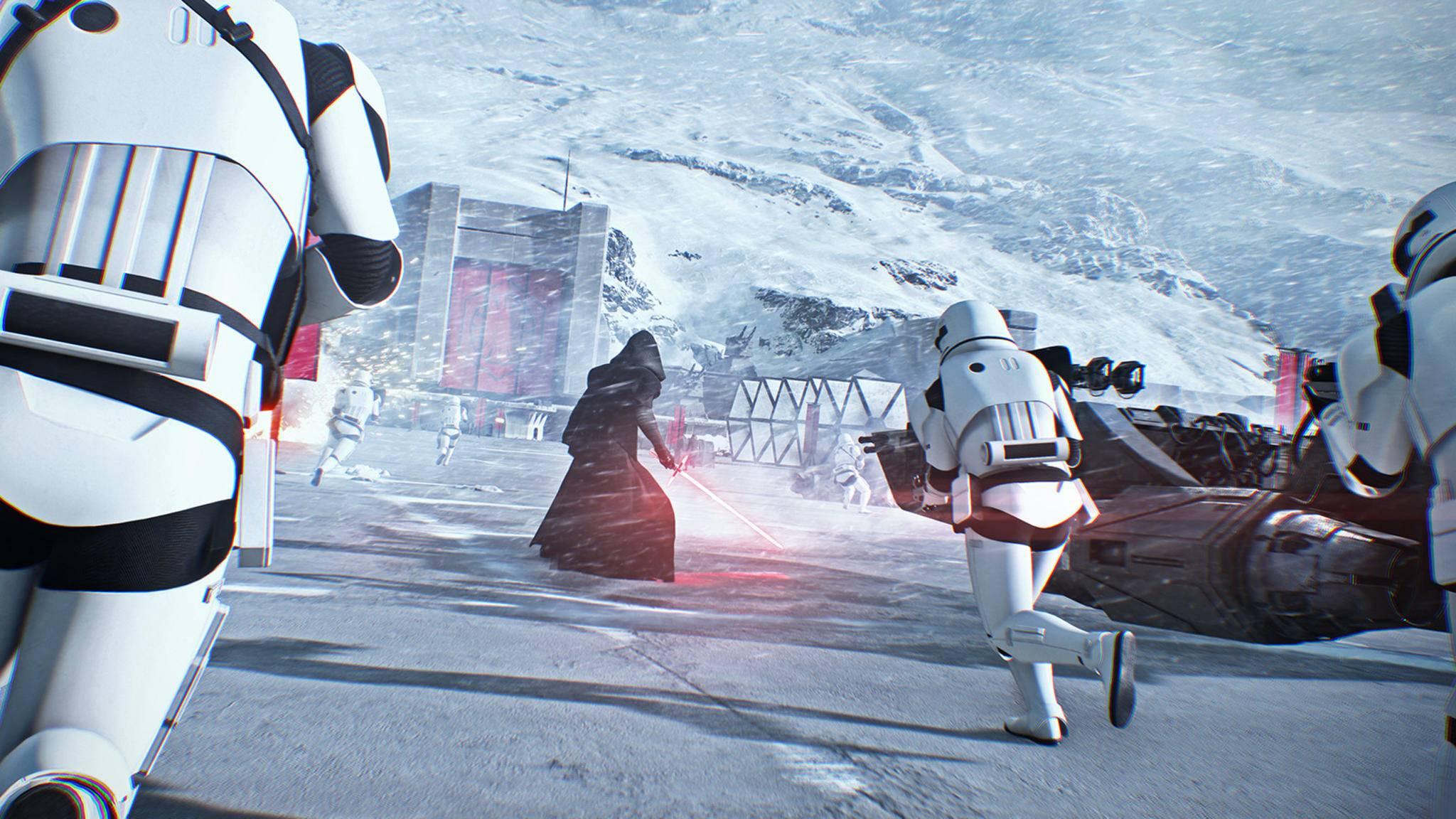 """Spielbare Jedi und Sith sind nur eines von vielen Features in """"Star Wars: Battlefront 2""""."""