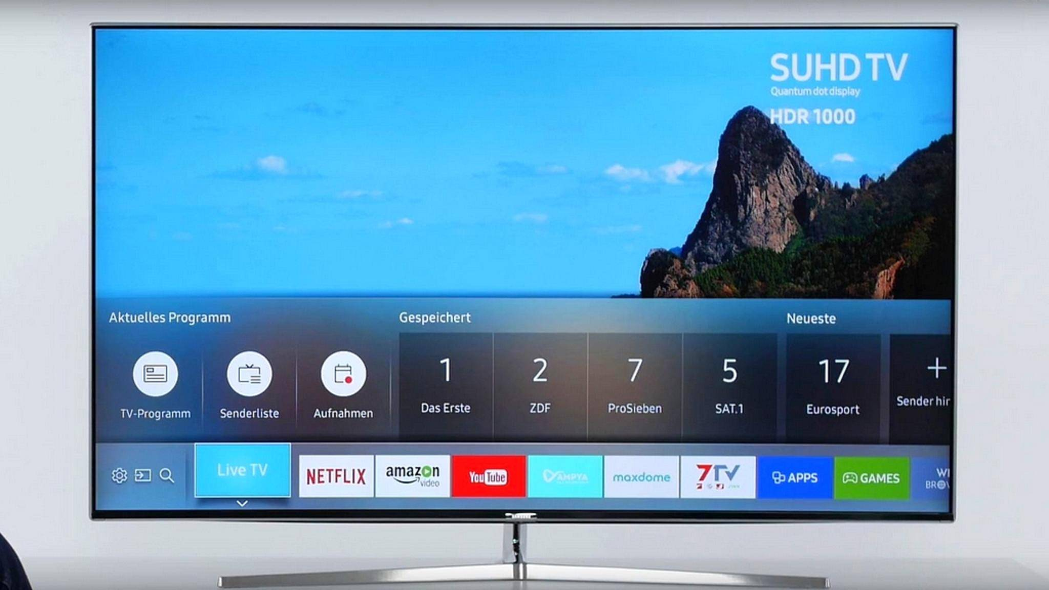 Das Bearbeiten der Senderliste am Samsung-TV kann knifflig sein.