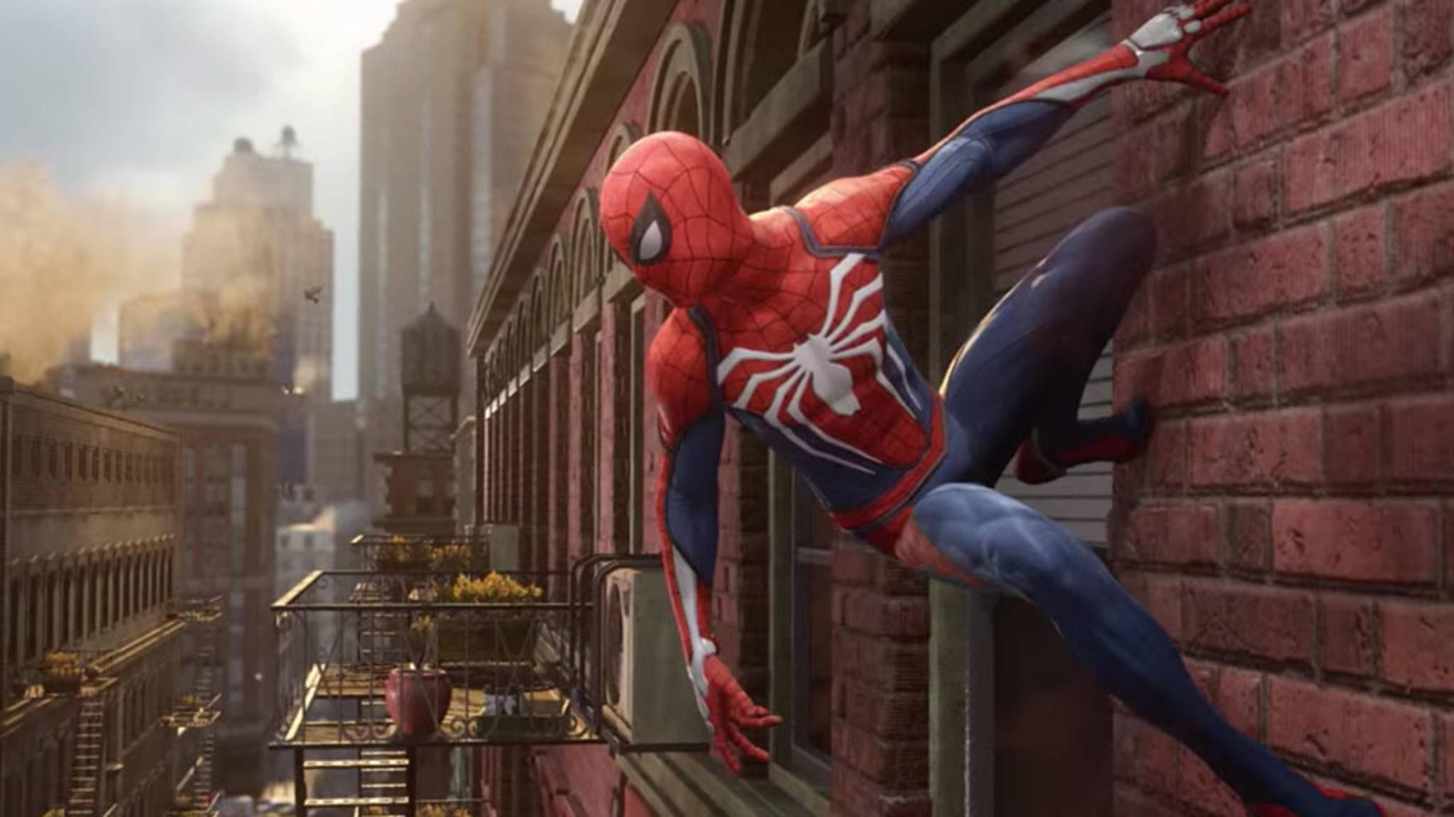 """""""Spider-Man"""" kommt auf die PS4."""