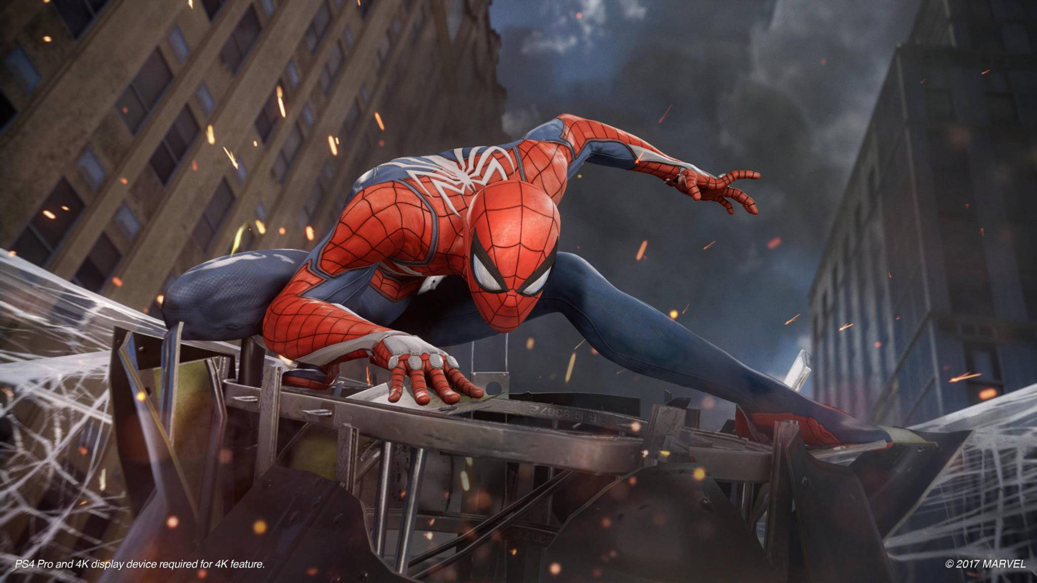 """Mit """"Marvel's Spider-Man"""" bewarb Sony auch die Möglichkeiten der PS4 Pro."""