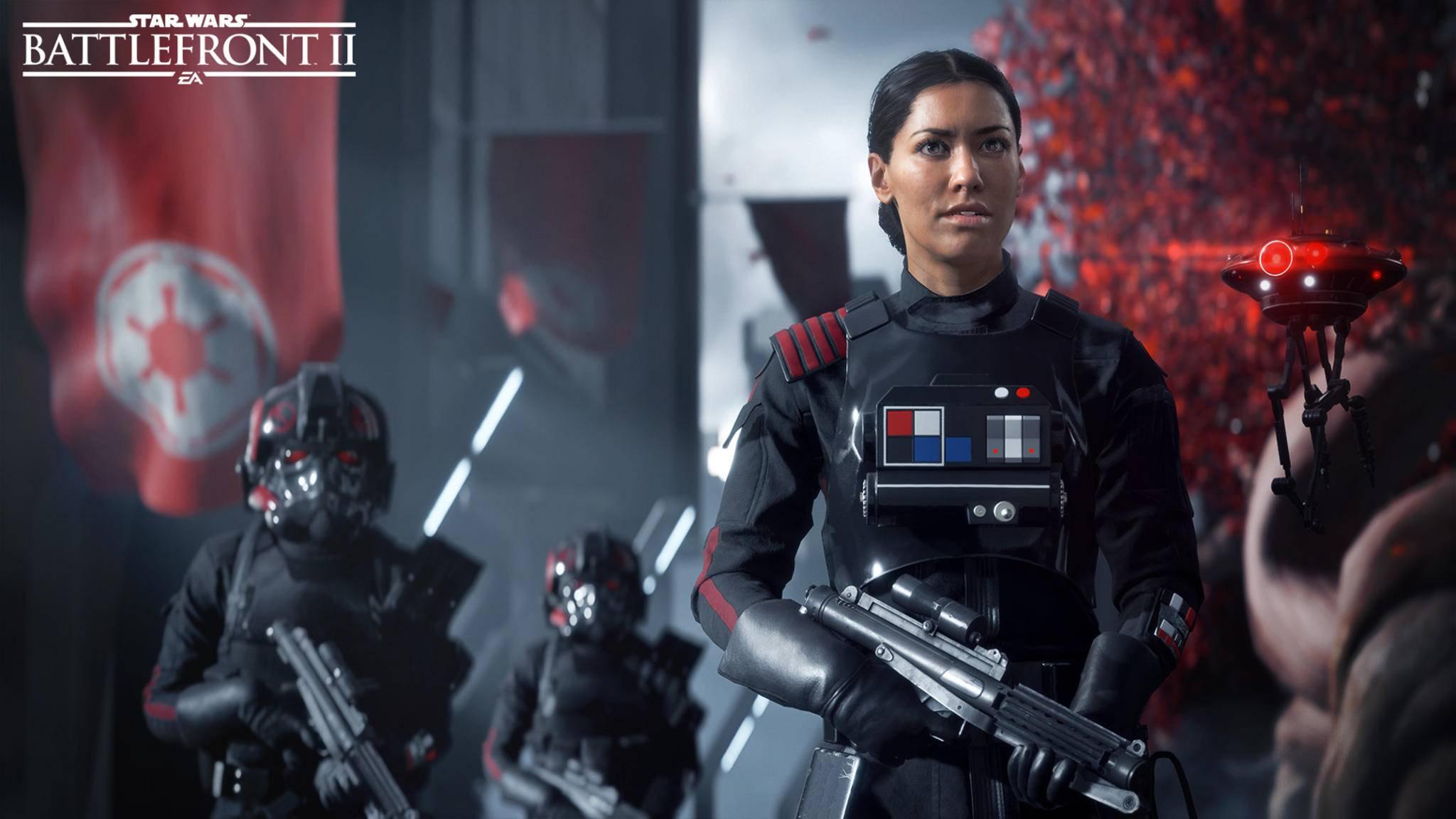 """Die Singleplayer-Kampagne von """"Star Wars: Battlefront 2"""" wird aus Perspektive einer imperialen Soldatin erzählt."""