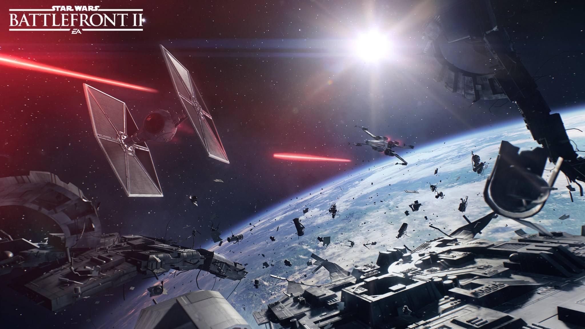 """Ein Update für """"Star Wars: Battlefront 2"""" bringt unter anderem ein neues Spielzeug für TIE-Piloten."""