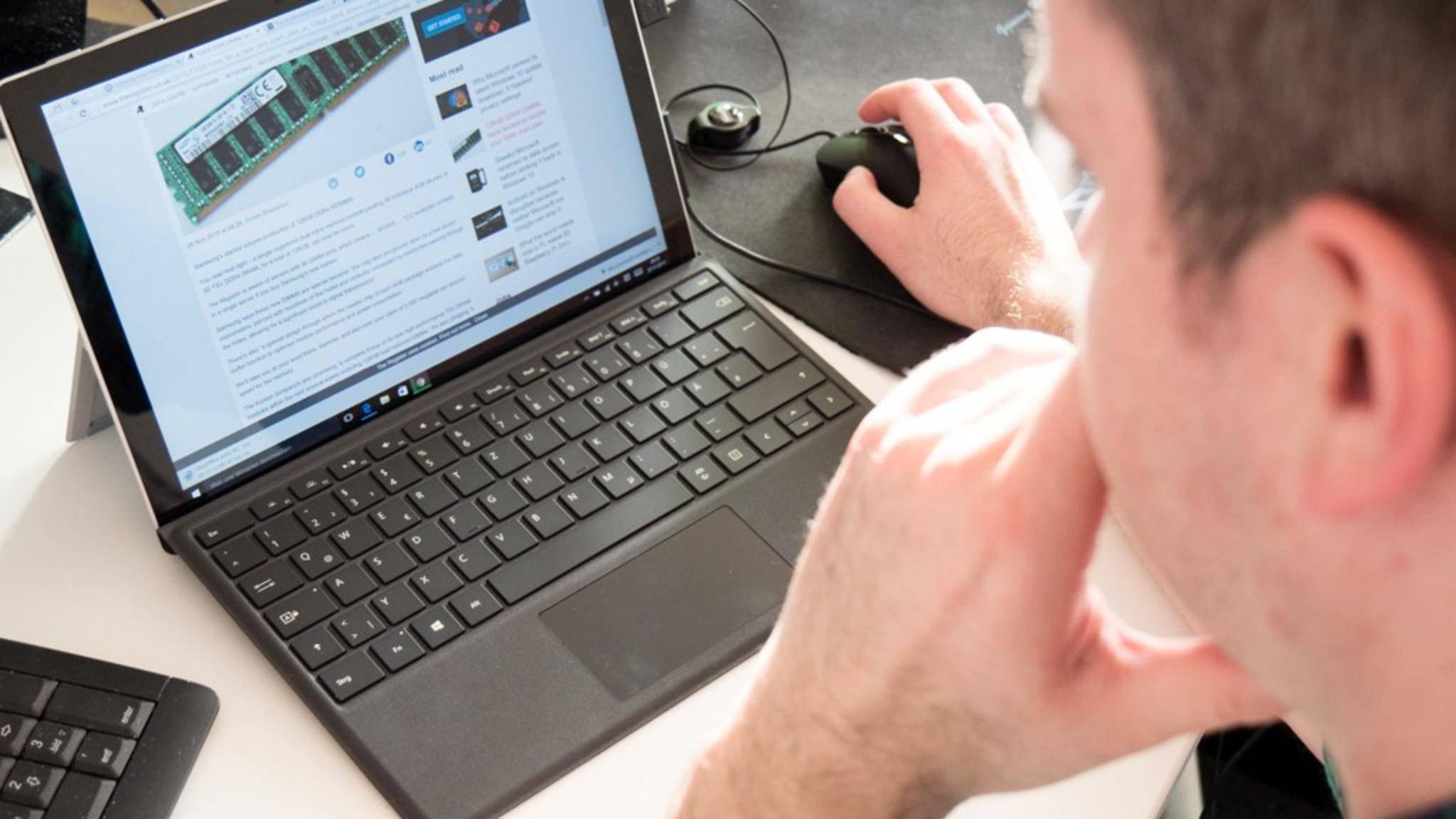 Könnte das Snapdragon-835-Gerät mit Windows ein neues Surface-Tablet sein?