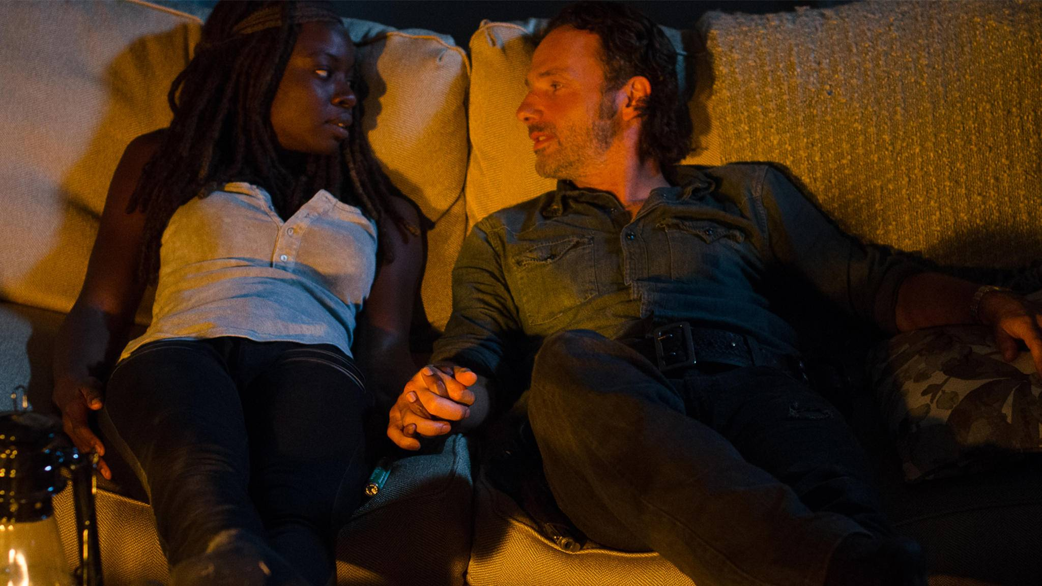 Im Finale von Staffel 7 mussten die Zuschauer auf eine innige Richonne-Szene verzichten.