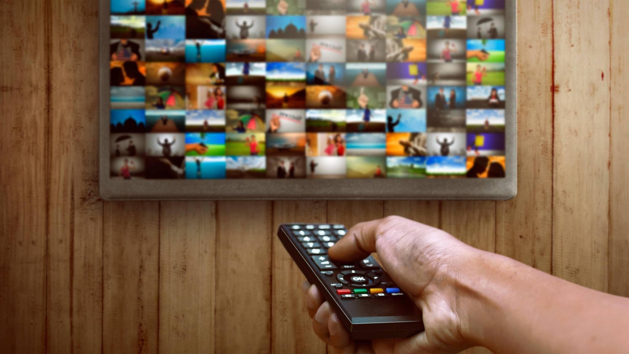 Fernsehen Streaming Fernbedienung