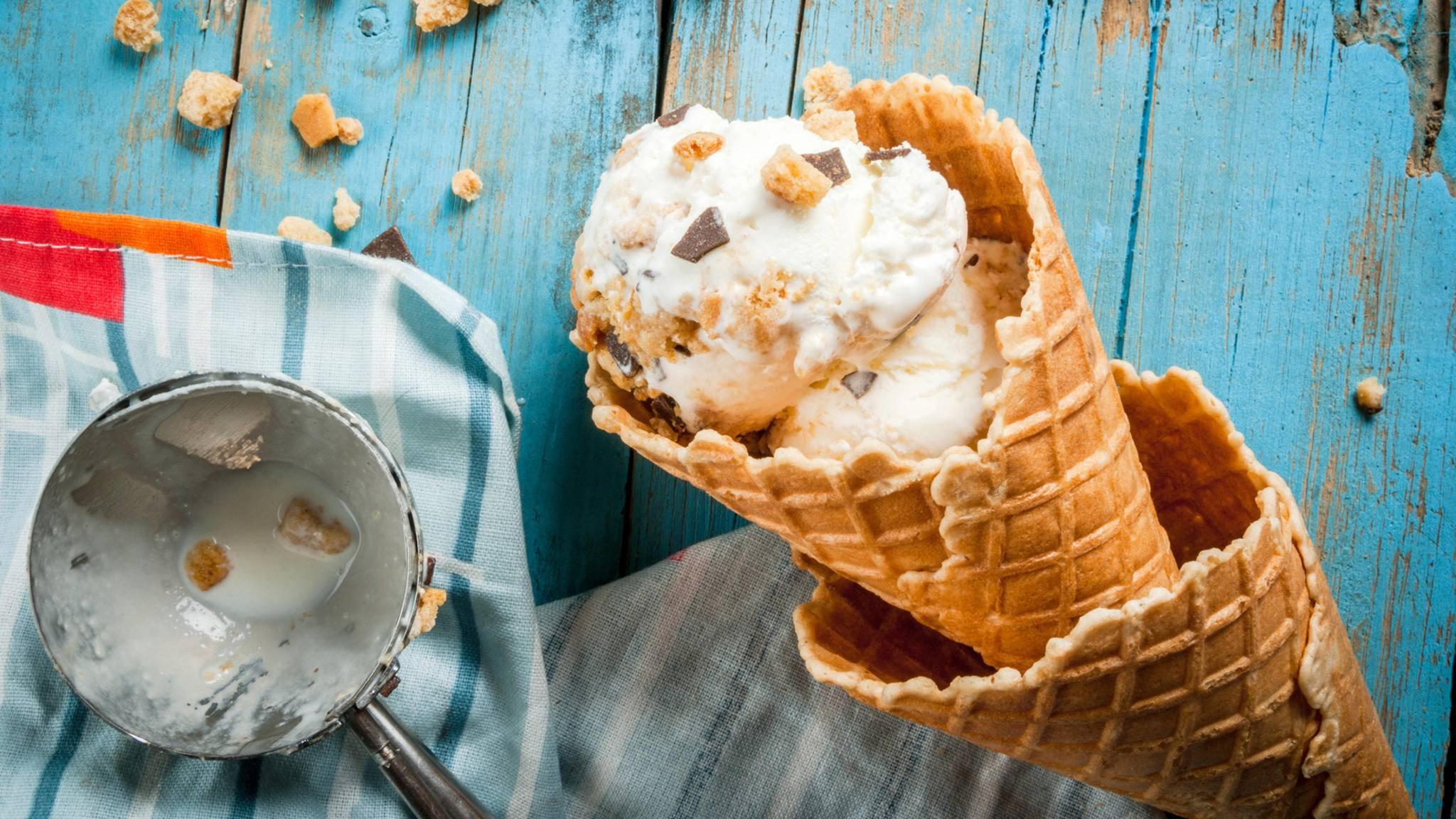 Eis lässt sich durch allerhand ausgefallene Zutaten aufpimpen.