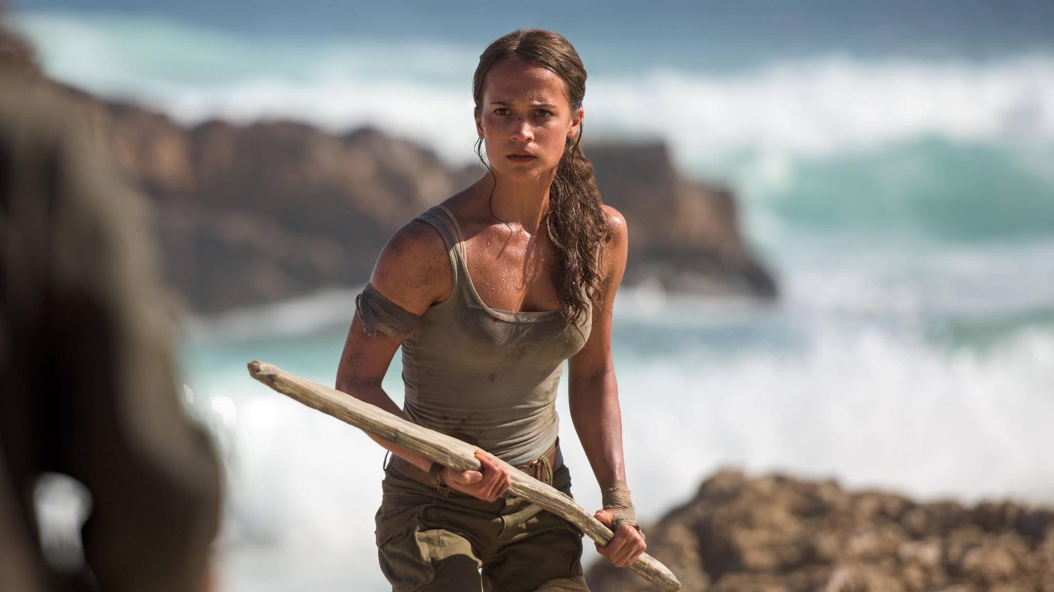 """Gut, aber nicht gut genug: Das filmische Reboot zu """"Tomb Raider"""" mit Alicia Vikander."""