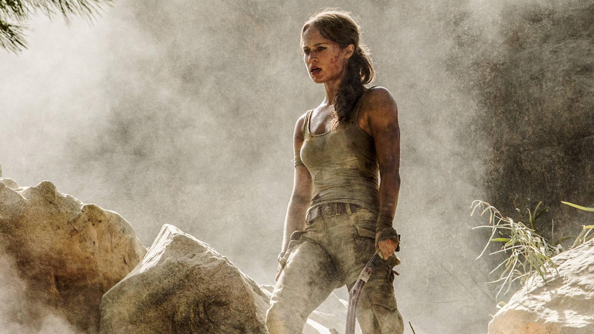 2018 entert Alicia Vikander als neue Lara Croft die große Kinoleinwand.
